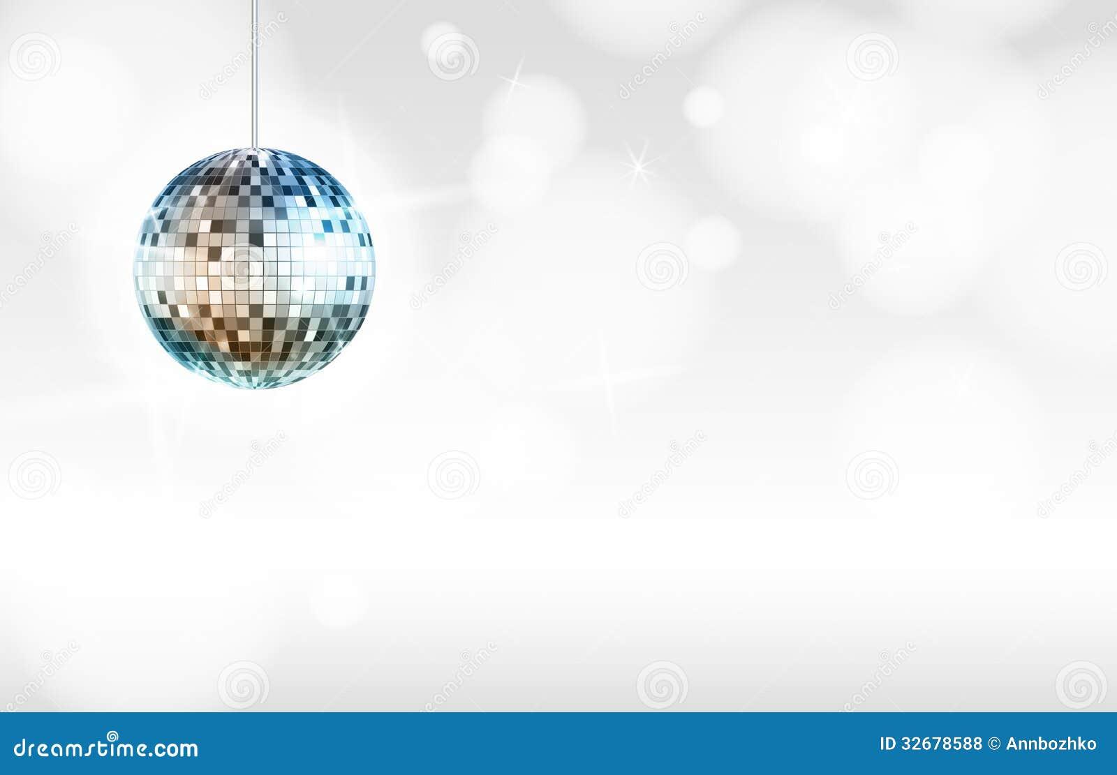 disco ball background white - photo #24