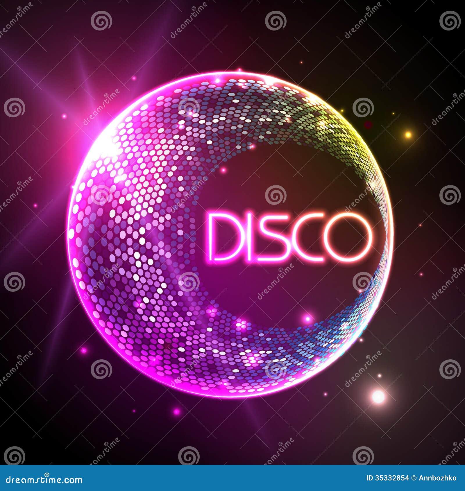 Disco ball disco background stock images image 35332854 - Bola de discoteca ...