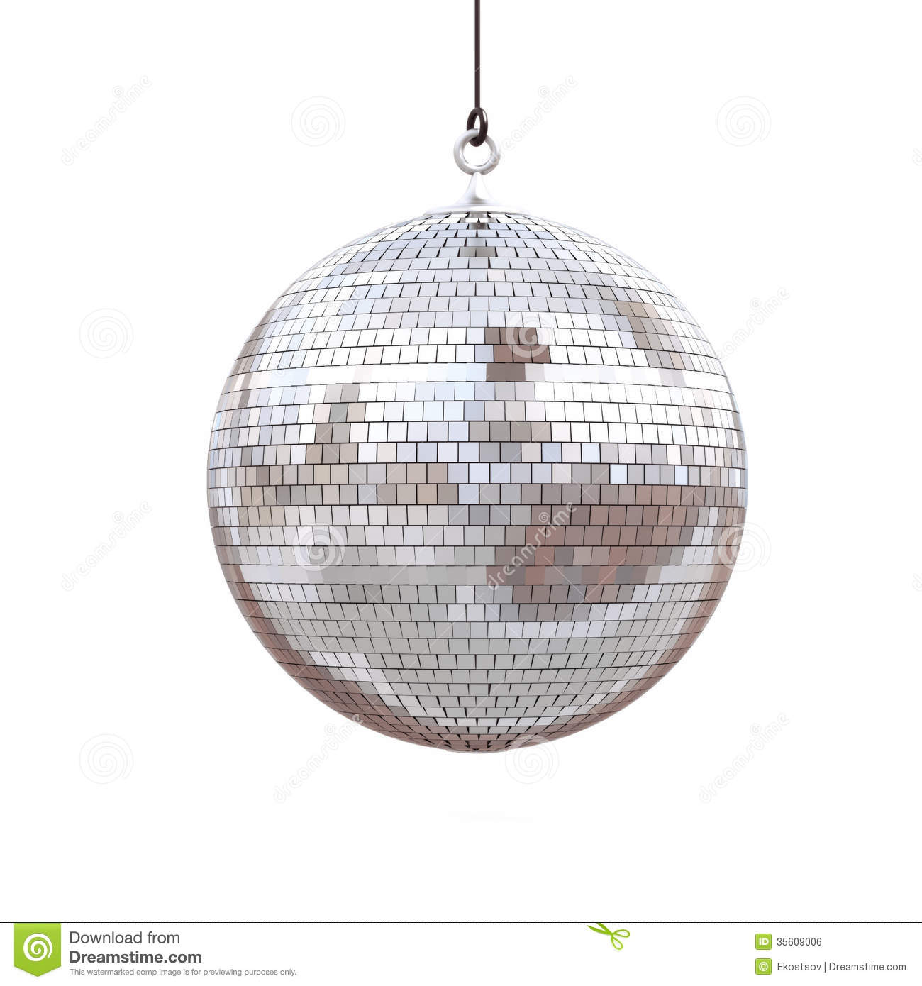 Disco Ball Royalty Free Stock Image Image 35609006