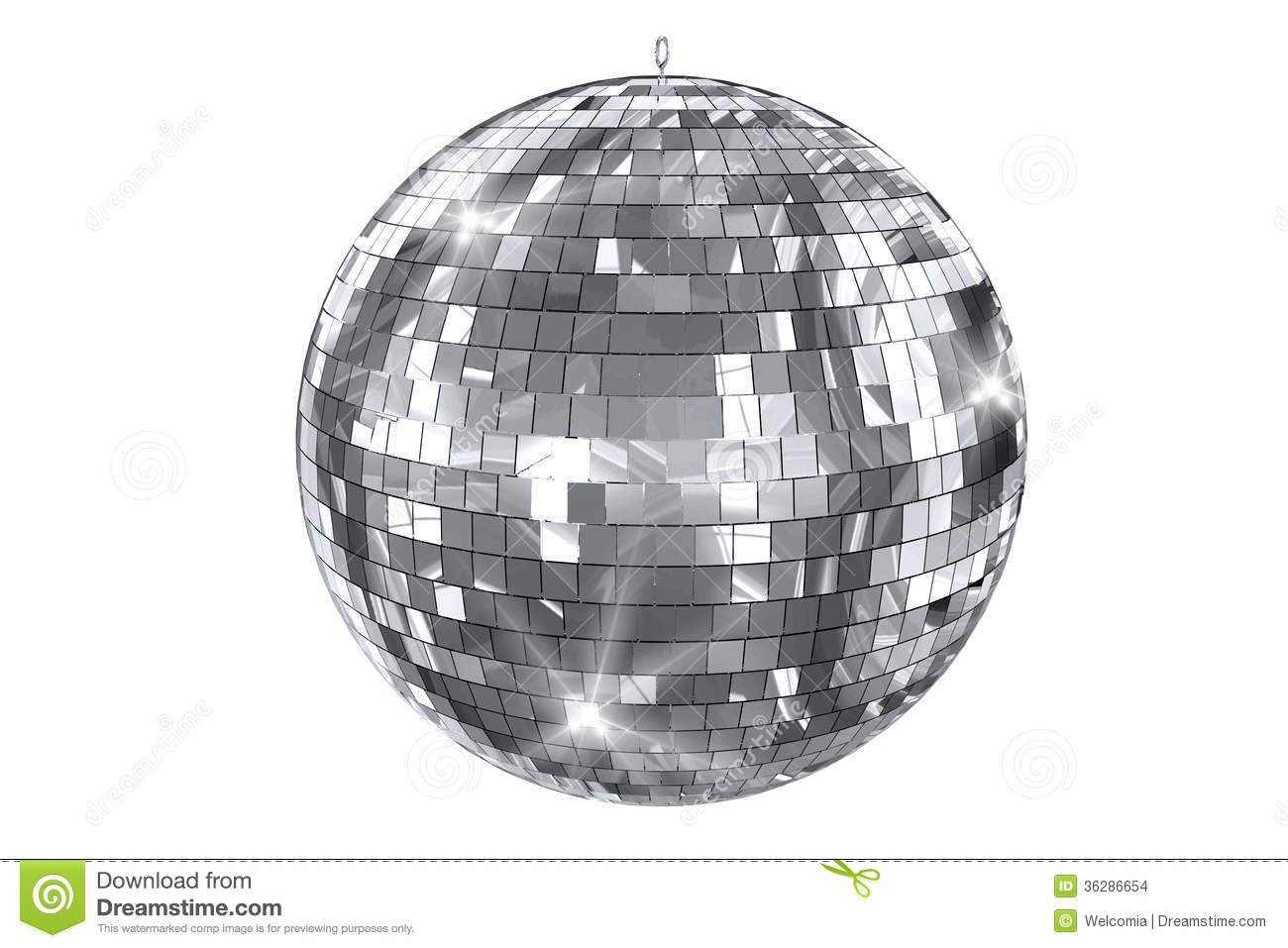 disco ball isolated stock images image 36286654. Black Bedroom Furniture Sets. Home Design Ideas