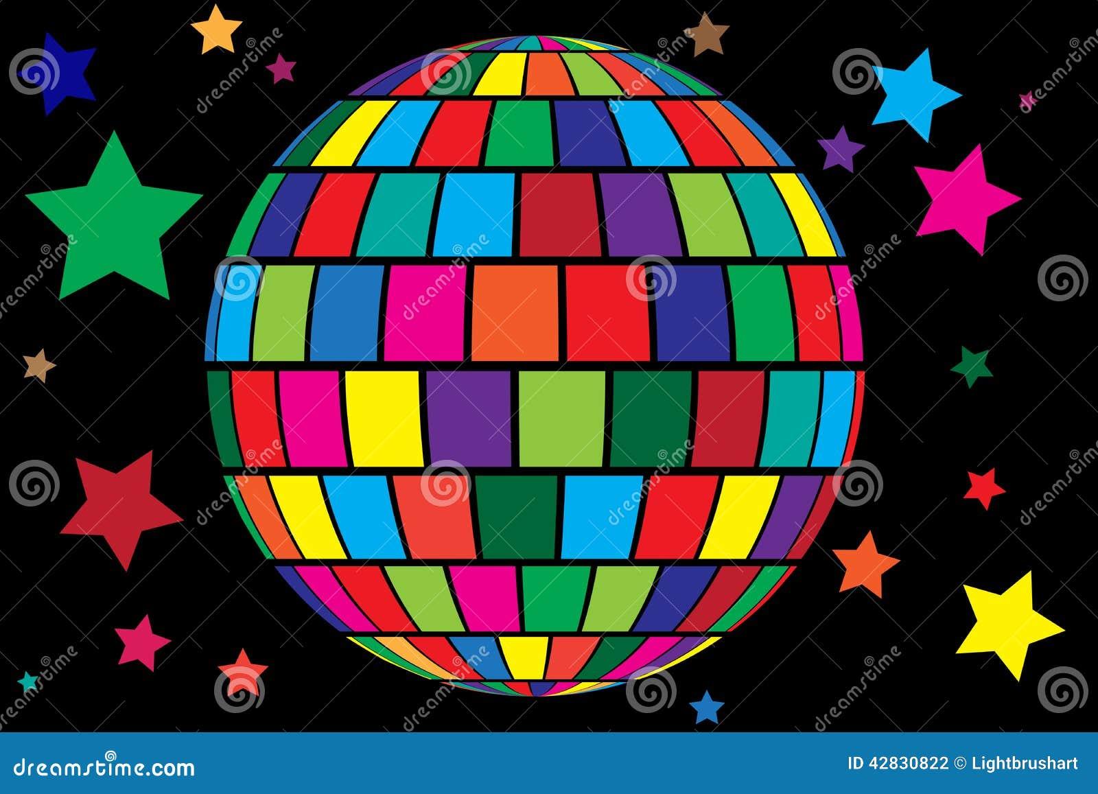 Disco Ball Vector Background Stock Vector - Image: 42830822