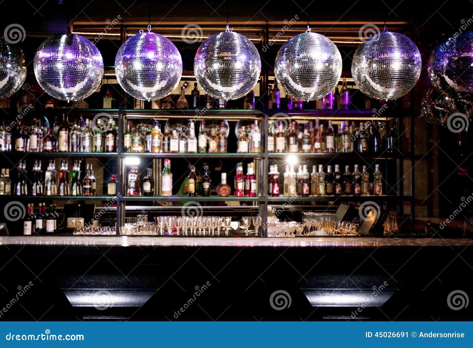 Disco Bar Stock Image Image Of Glass Liquor Funky