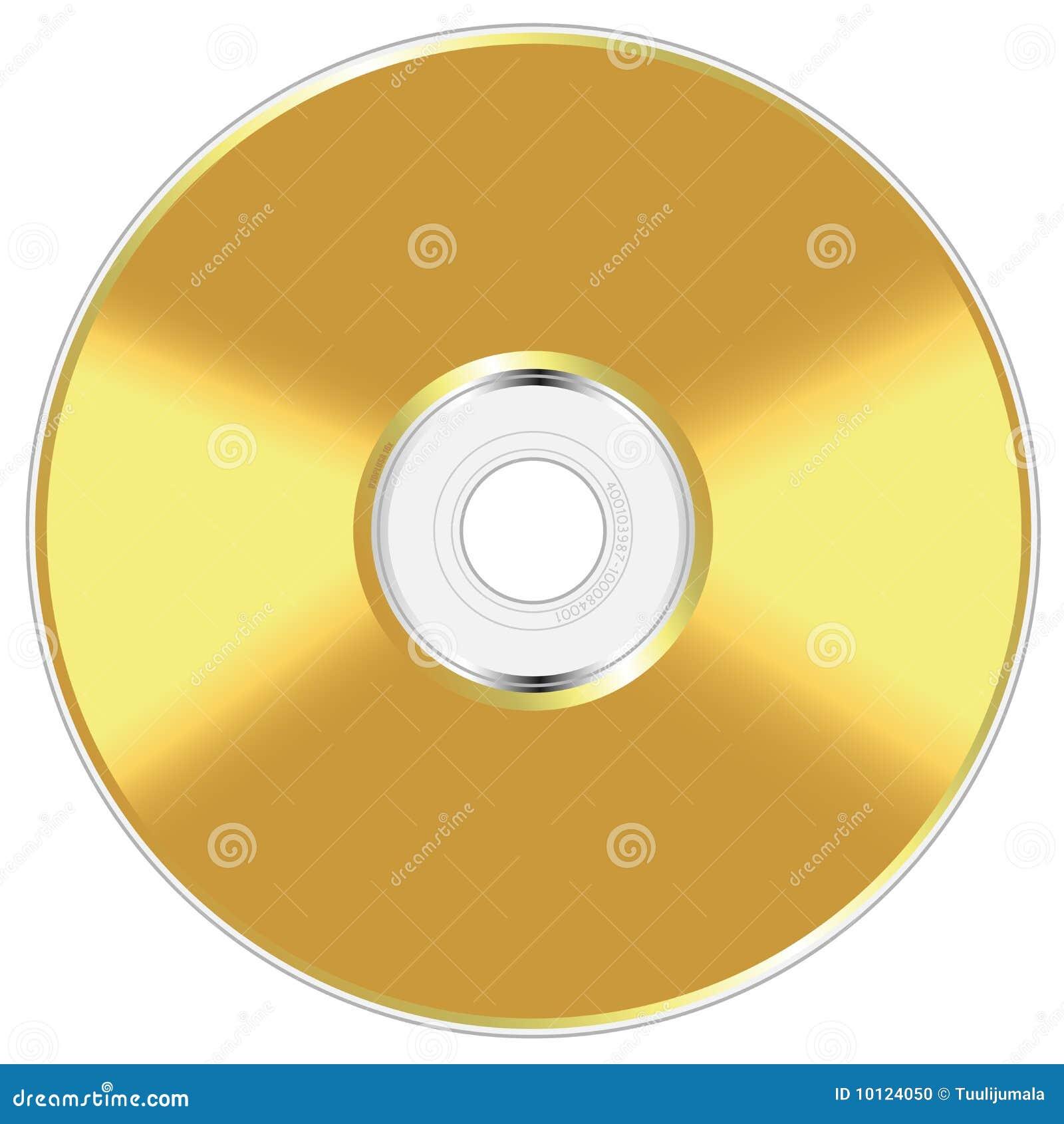 Disco compacto de oro