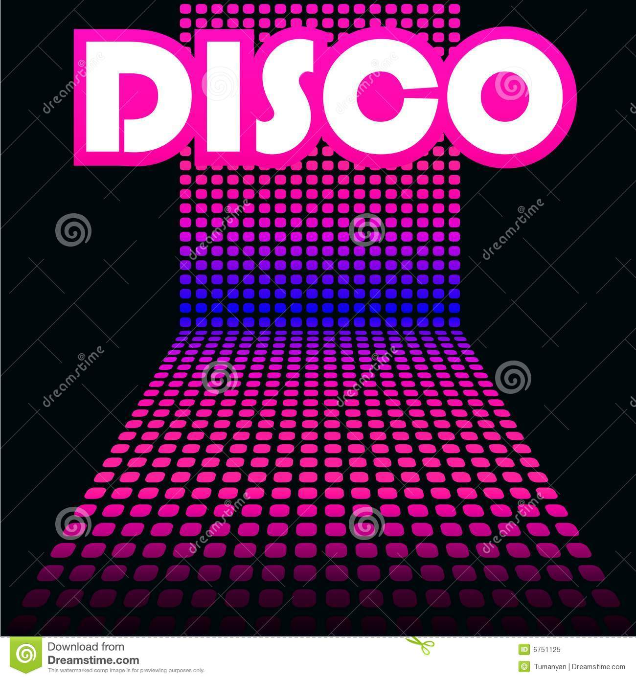 Disco Cover Template Royalty Free Stock Photo Image 6751125