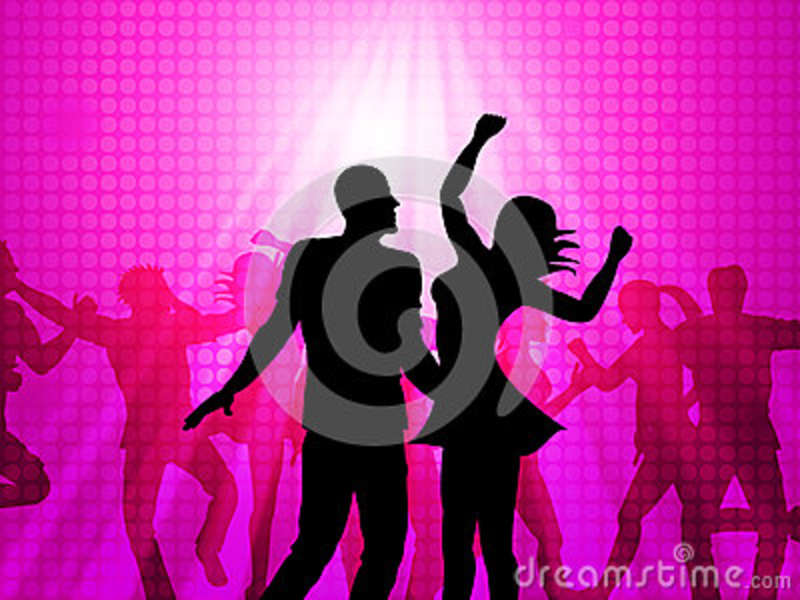 Disco Dancing Means Parties Celebrations And Fun