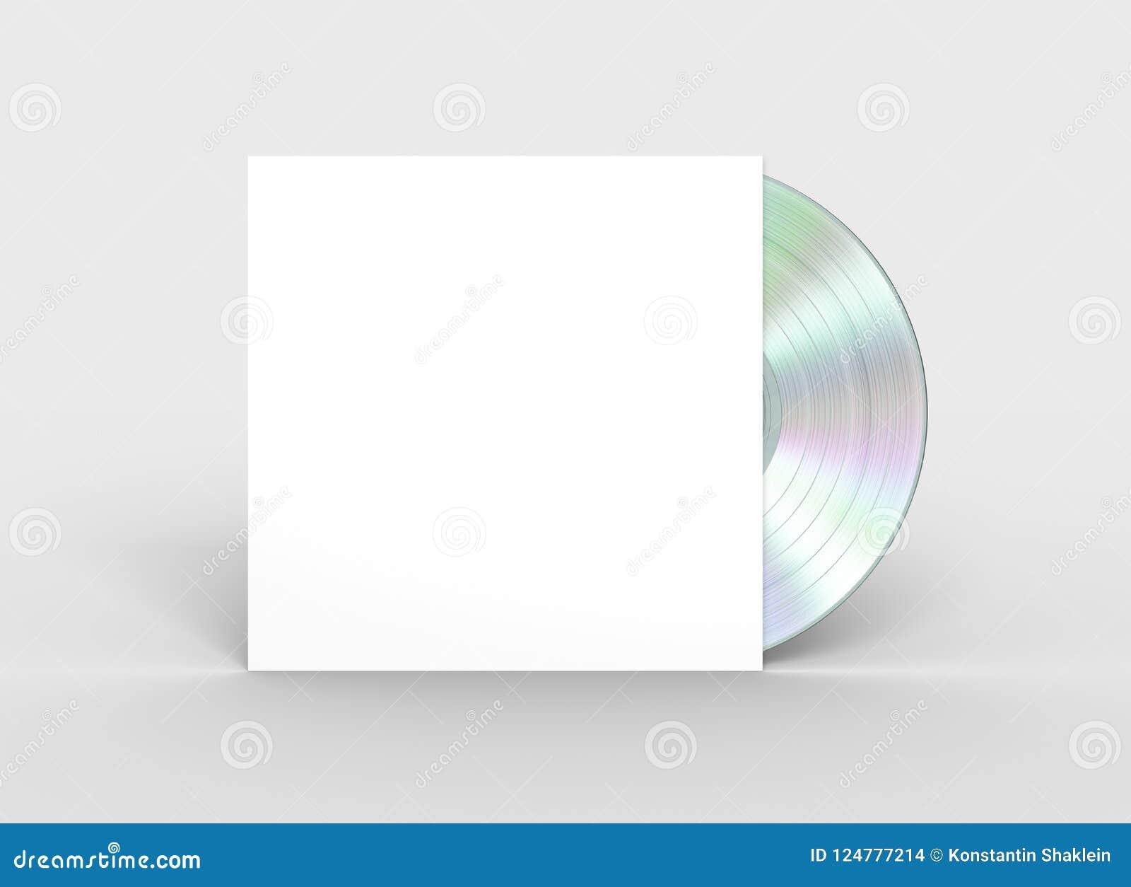 Disco de vinilo del platino en caso del Libro Blanco