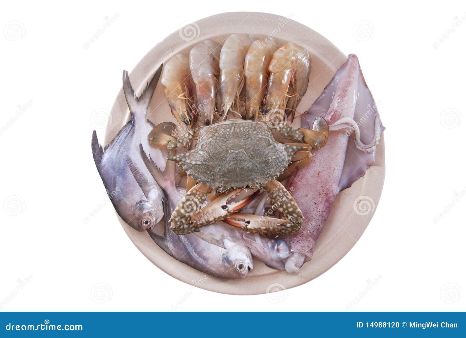 Disco dei frutti di mare