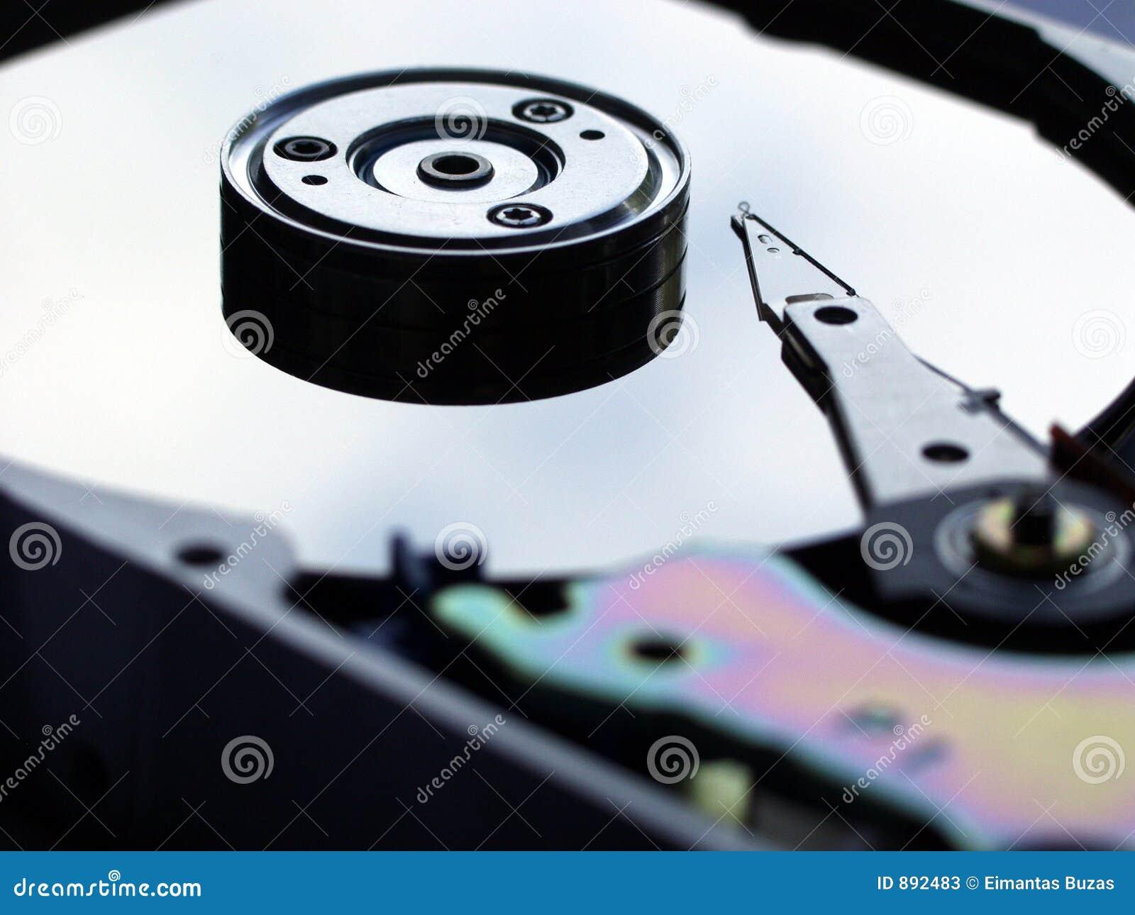 Disco del almacenaje de datos