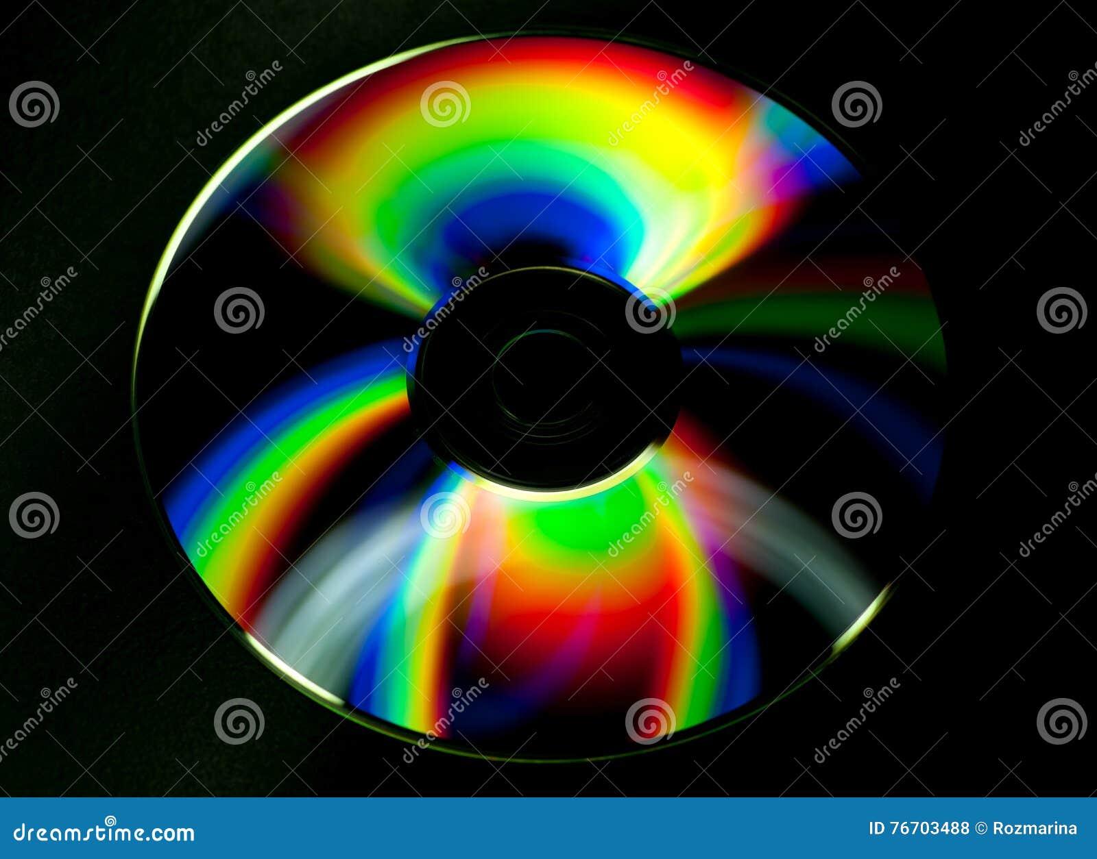 Disco del CD y del DVD