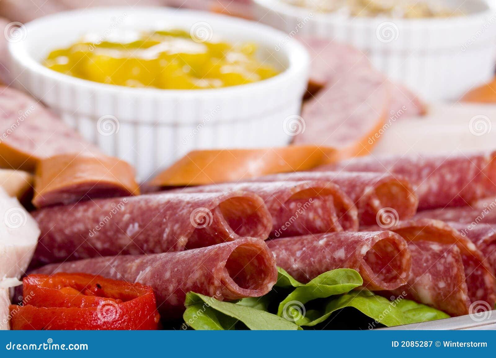 Disco di approvvigionamento della carne fredda