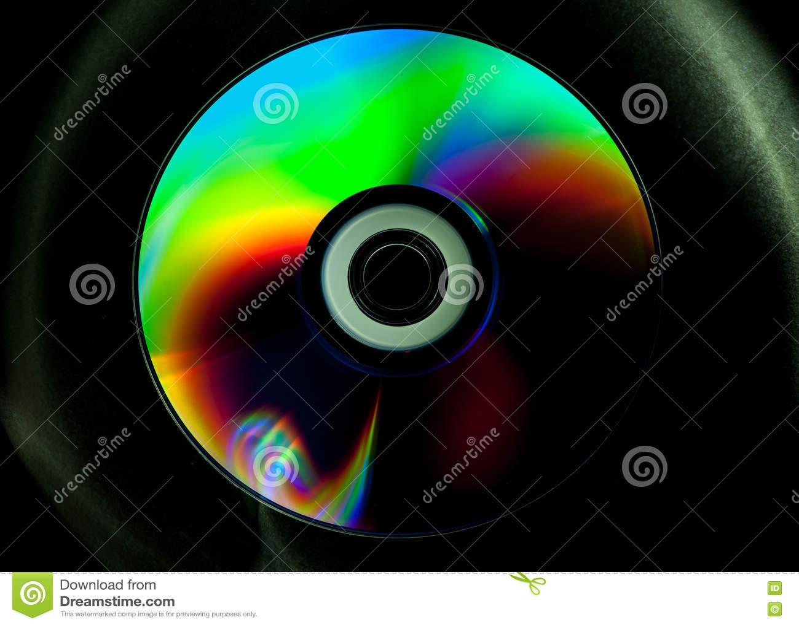 Disco di DVD e del CD