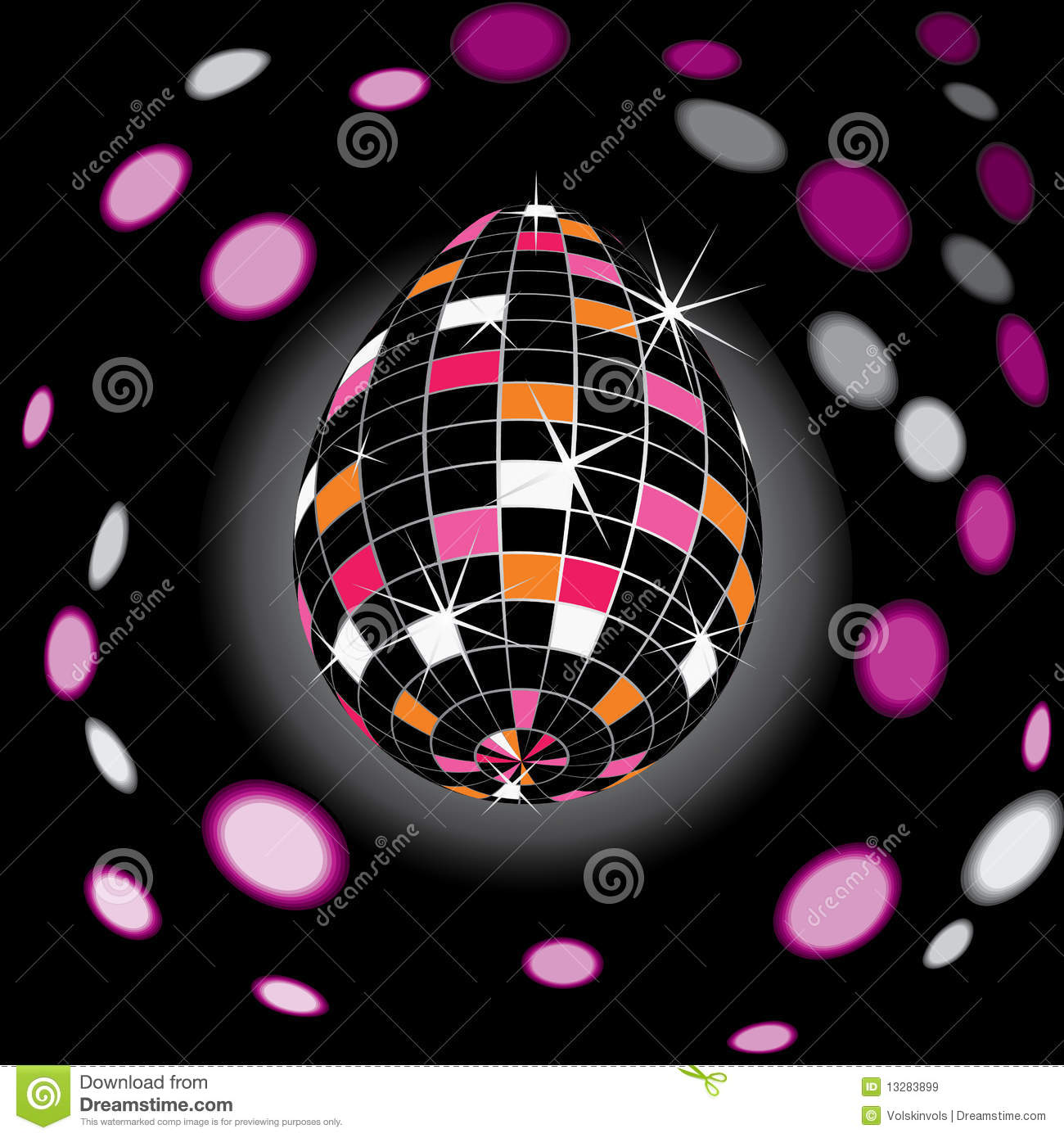 Disco Easter Royalty Free Stock Images Image 13283899