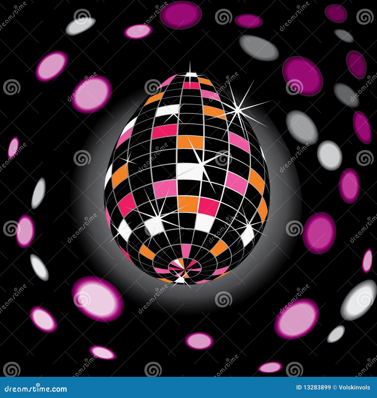 disco easter stock illustration image of nigthtclub