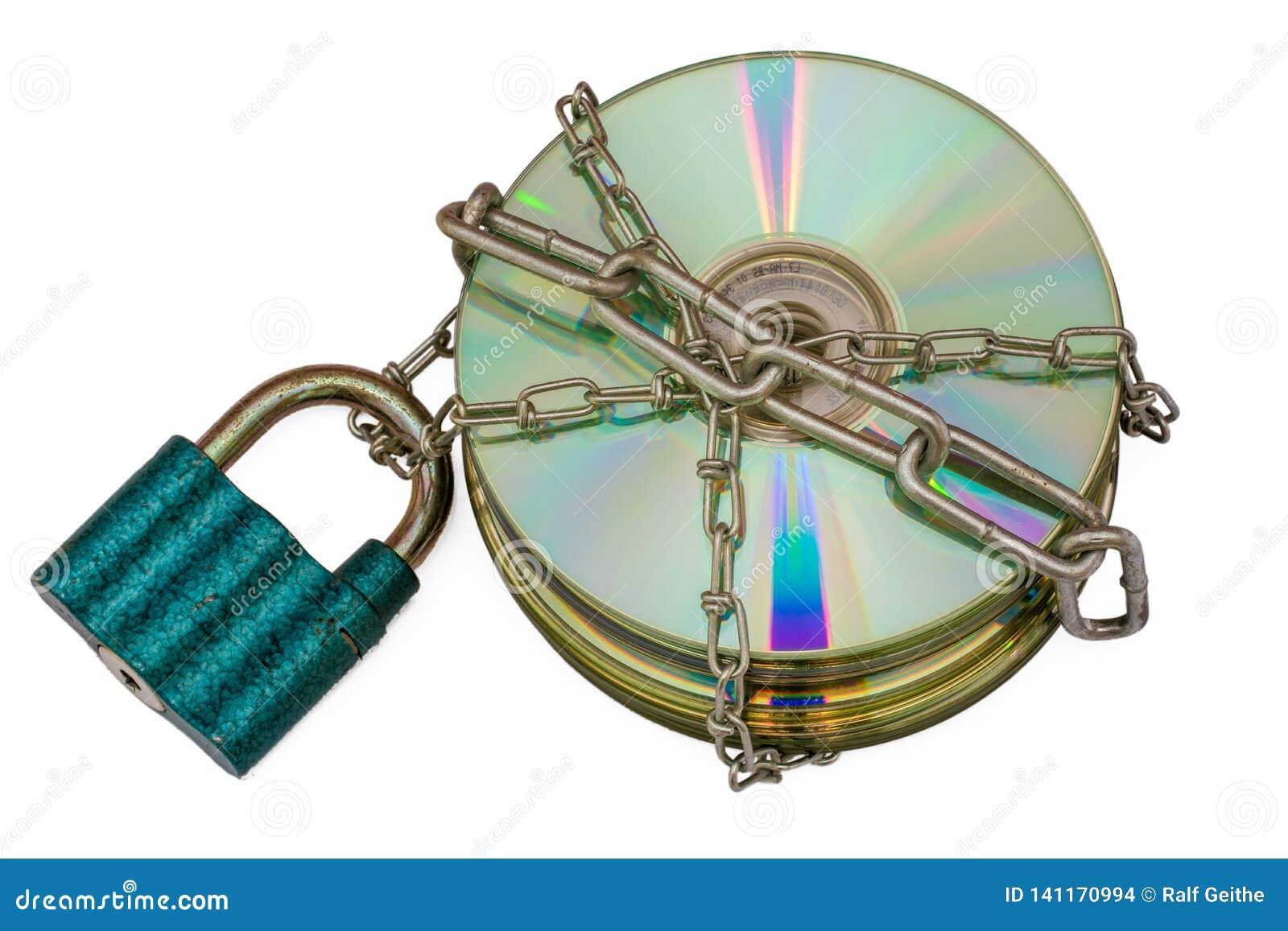Disco incluído como um sinal da privacidade