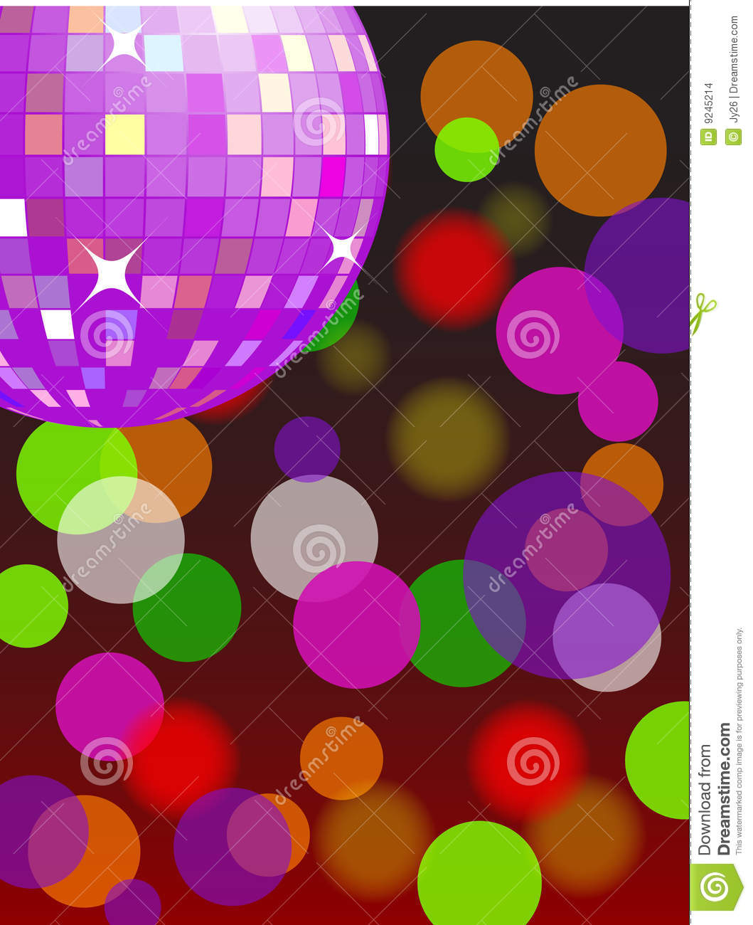 Disco Light Vector Stock Vector Image Of Illumination