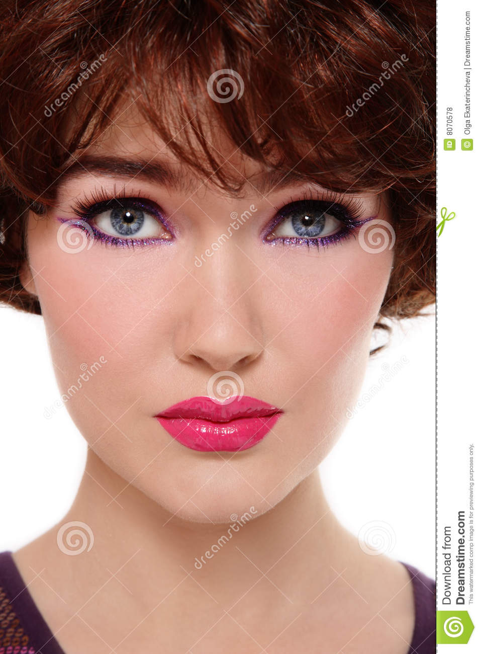 Disco Makeup Royalty Free Stock Photos