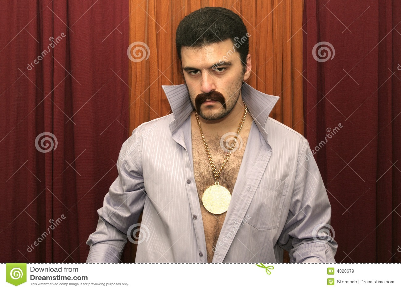 Disco Man Royalty Free Stock Images - Image: 4820679