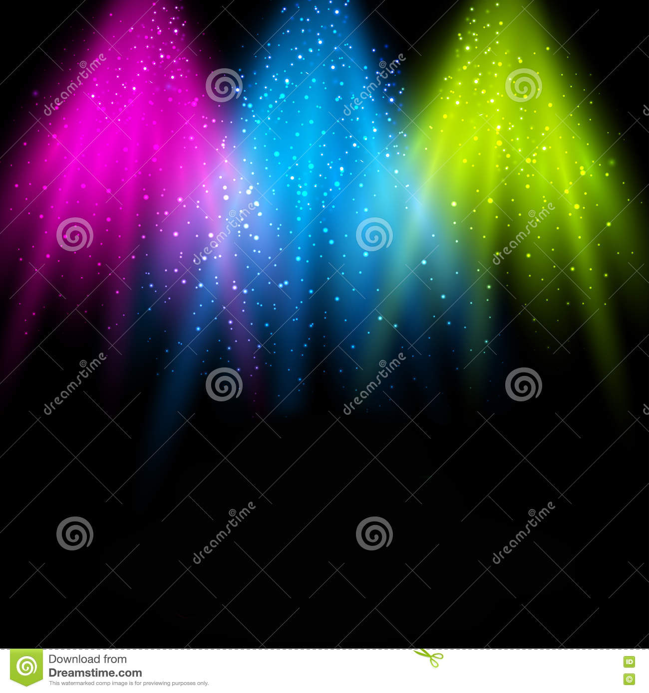 disco party poster background template stock vector illustration