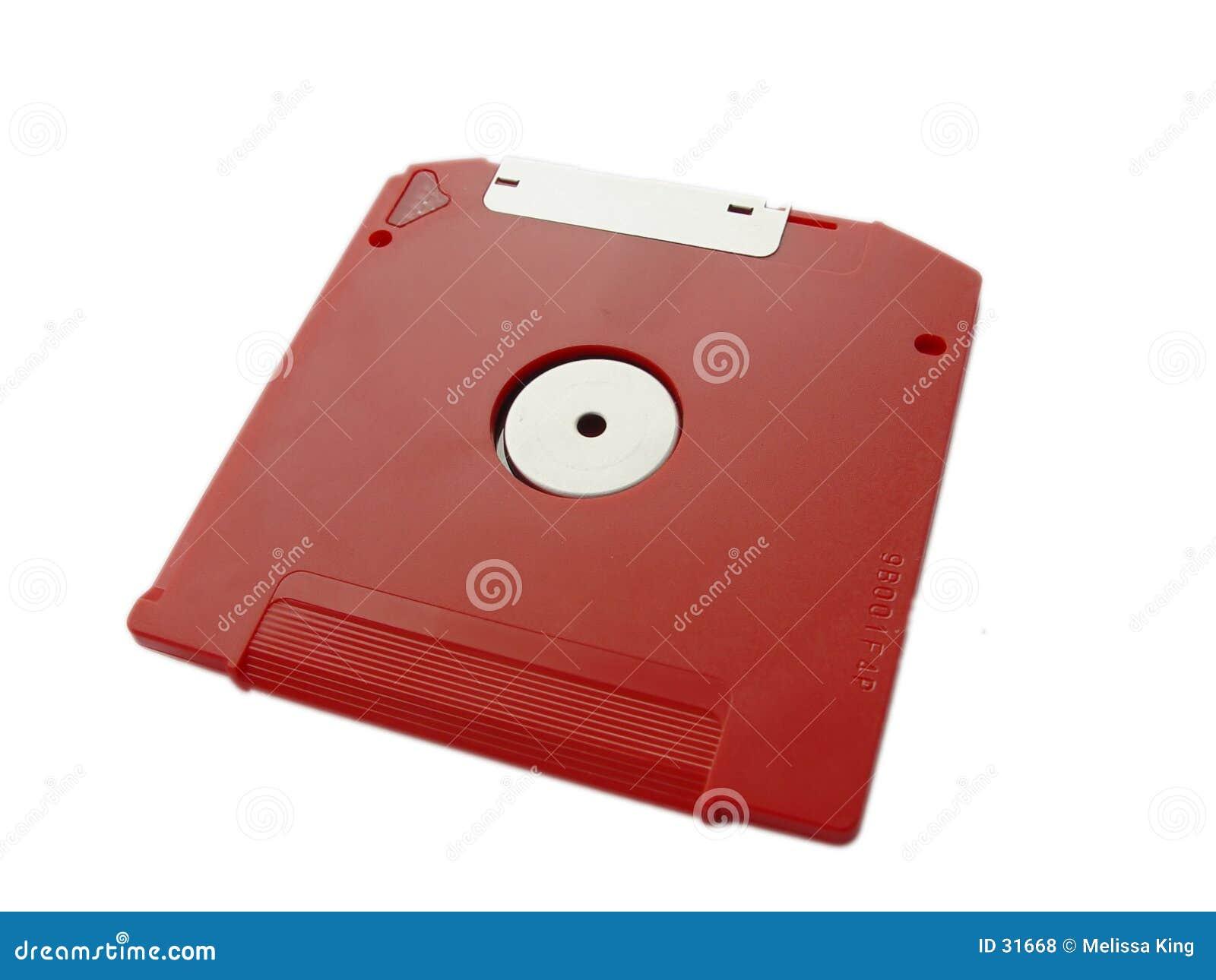 Disco vermelho do fecho de correr