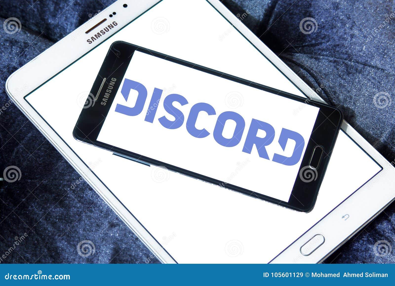 Discord Software Logo Editorial Stock Image Image Of Freeware 105601129