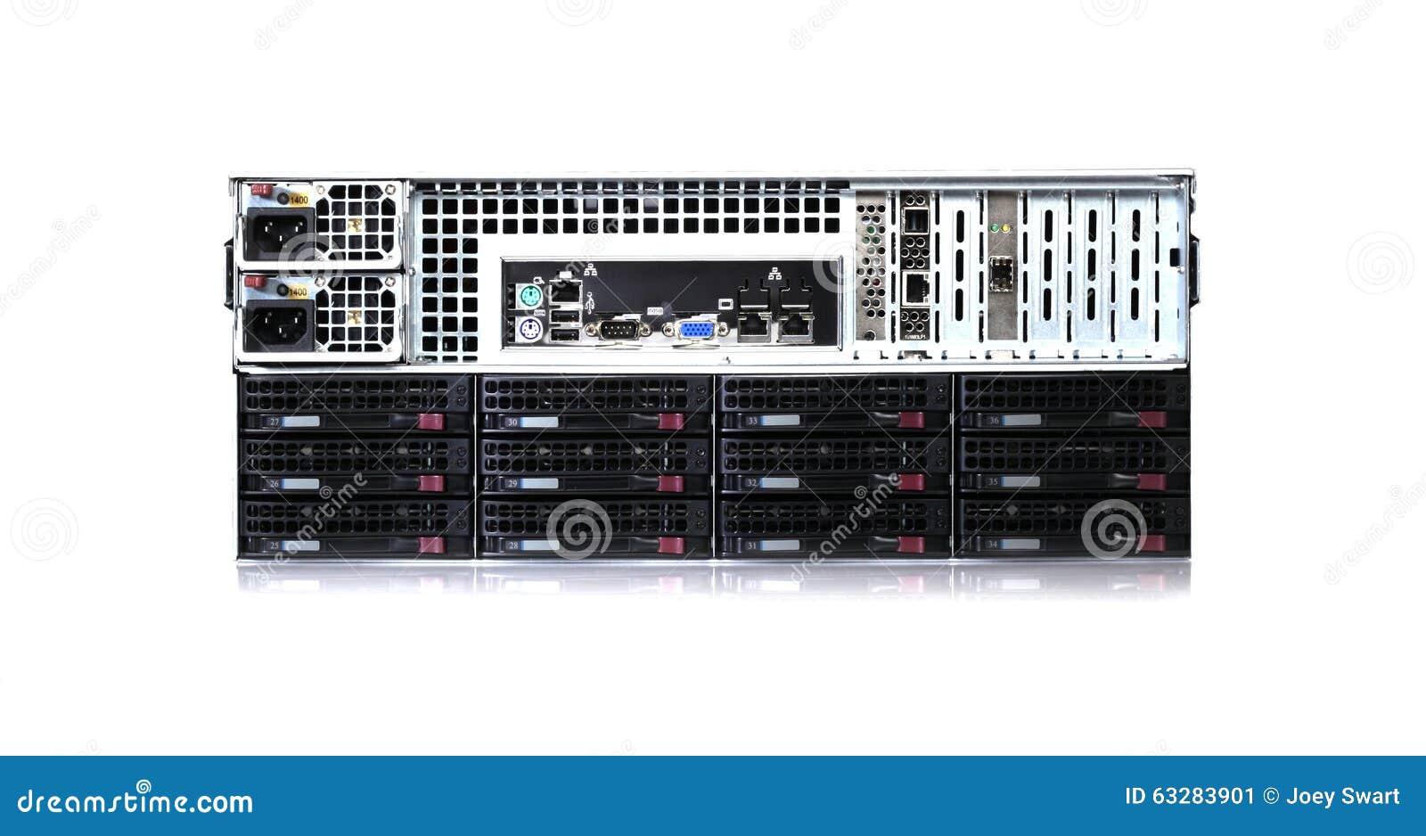 Discos duros en centro de datos