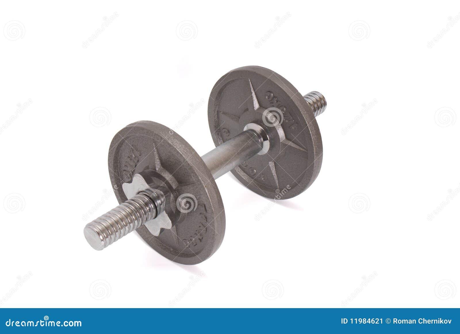 Discos para las pesas de gimnasia