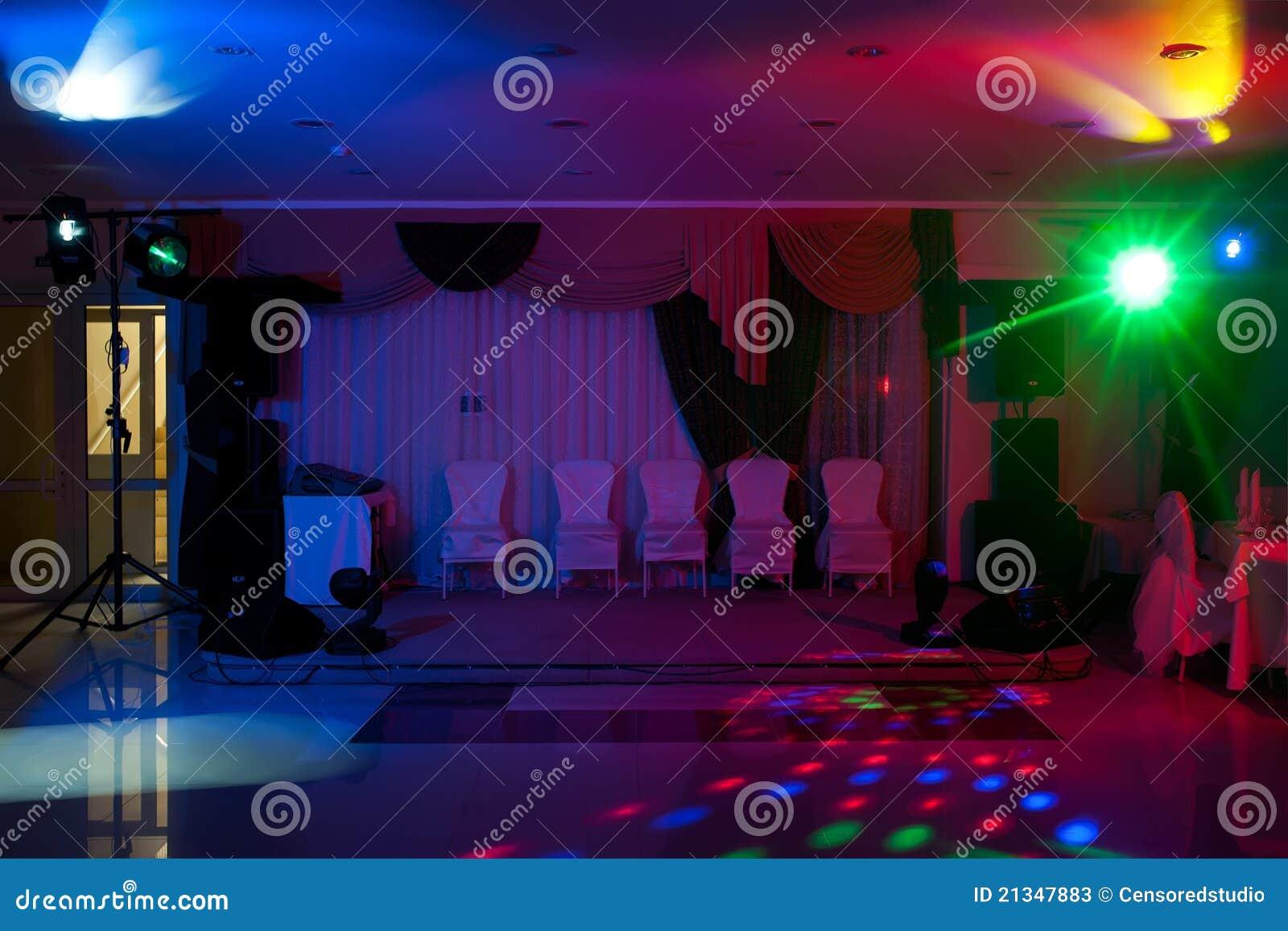 Discoteca in corridoio
