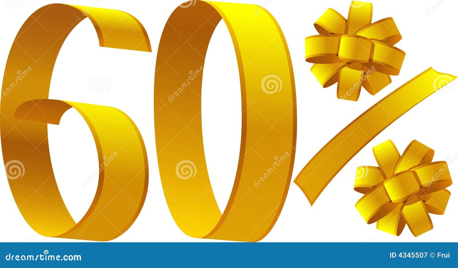 Discount - 60 percent