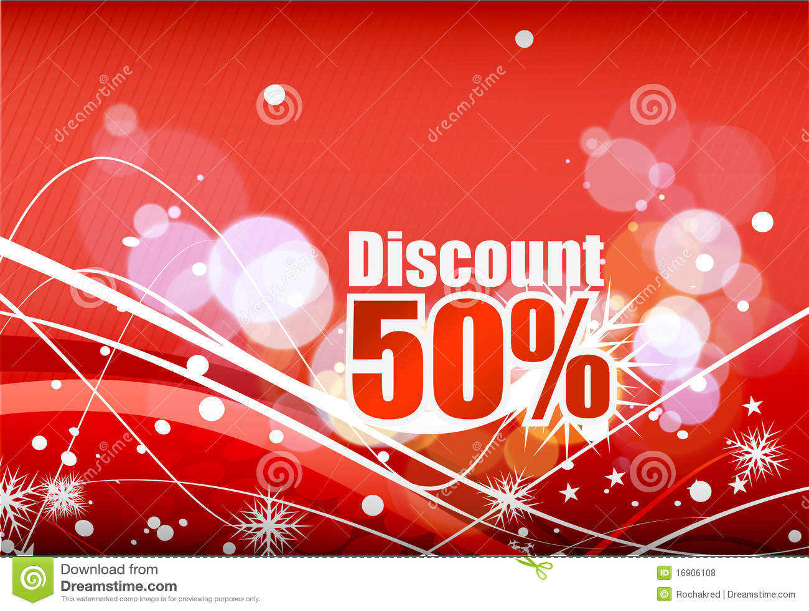 Design of discount card - Discount Card Design Royalty Free Stock Photos