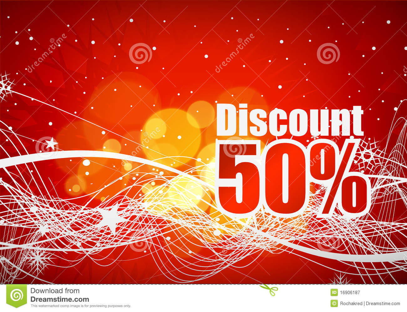 Design of discount card - Discount Card Design Royalty Free Stock Photography