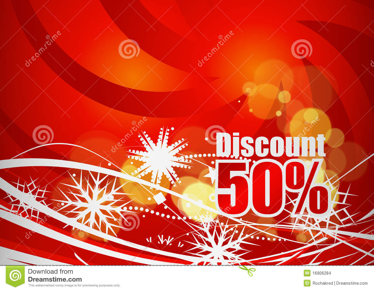 Design of discount card - Discount Card Design Stock Images