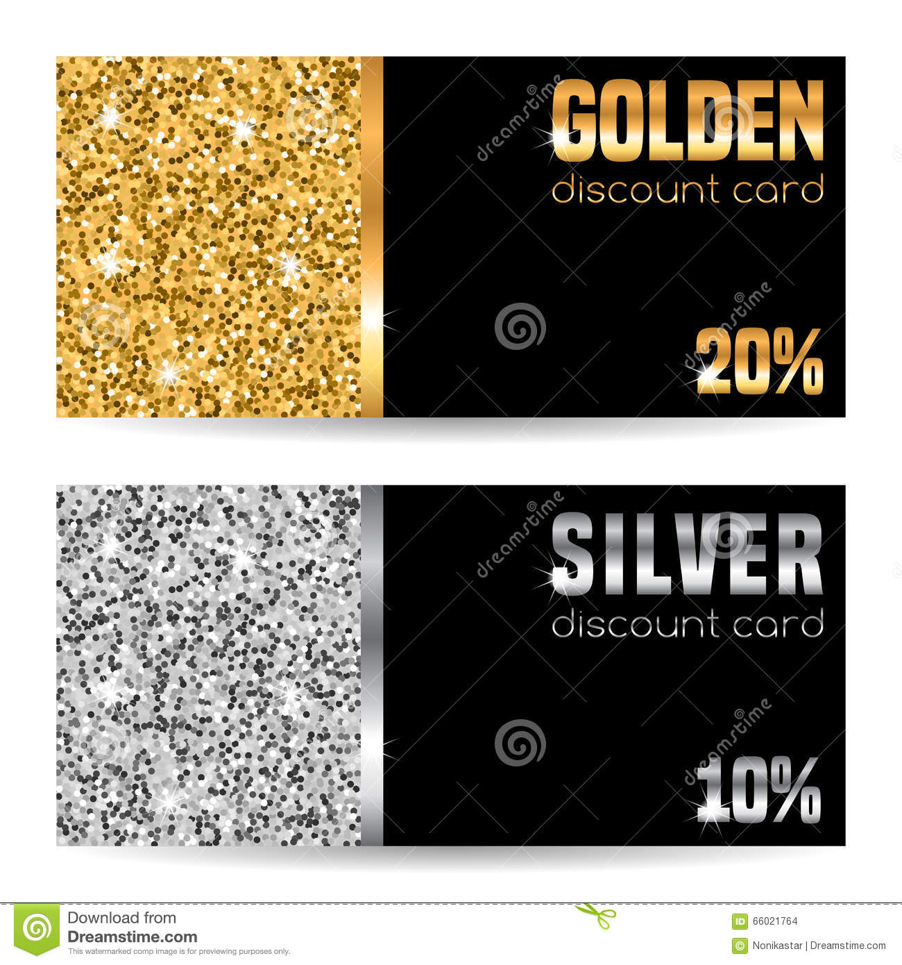 Discount card template stock vector. Image of metal, dust ...