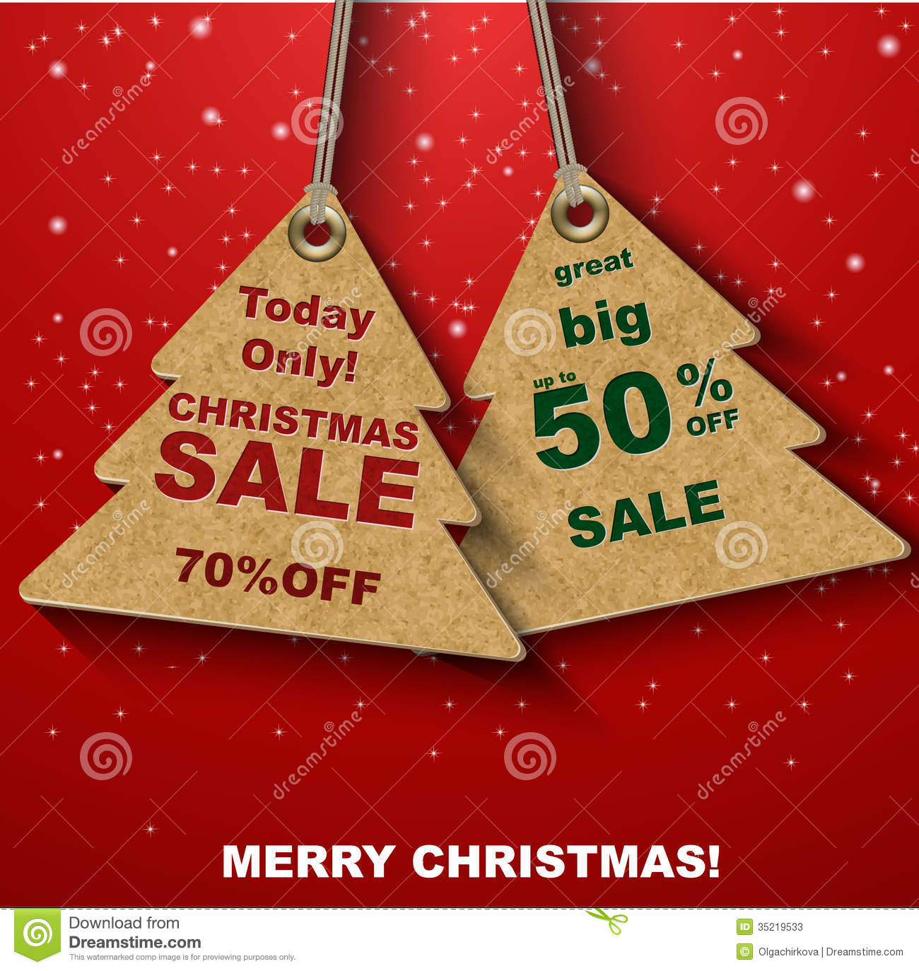 discount coupons in the form of christmas tree stock photos discount coupons in the form of christmas tree