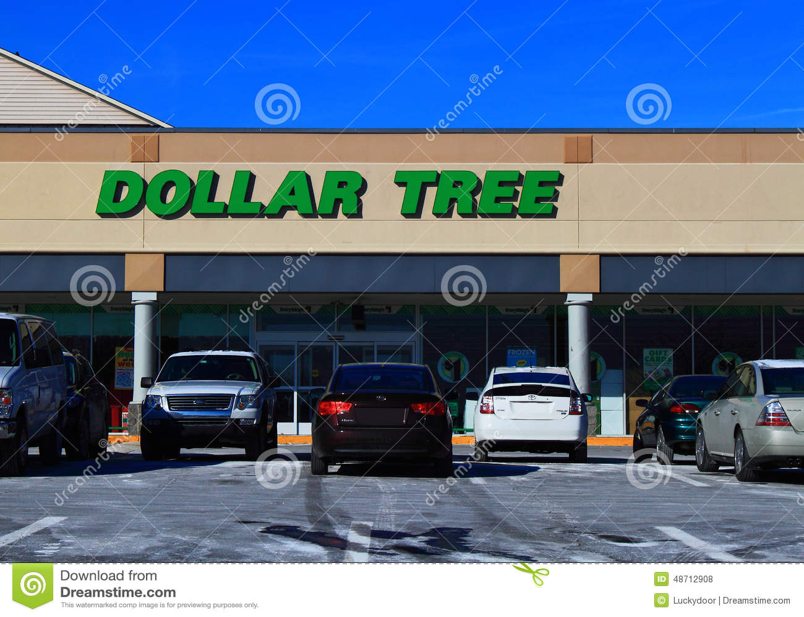 Discount del árbol del dólar