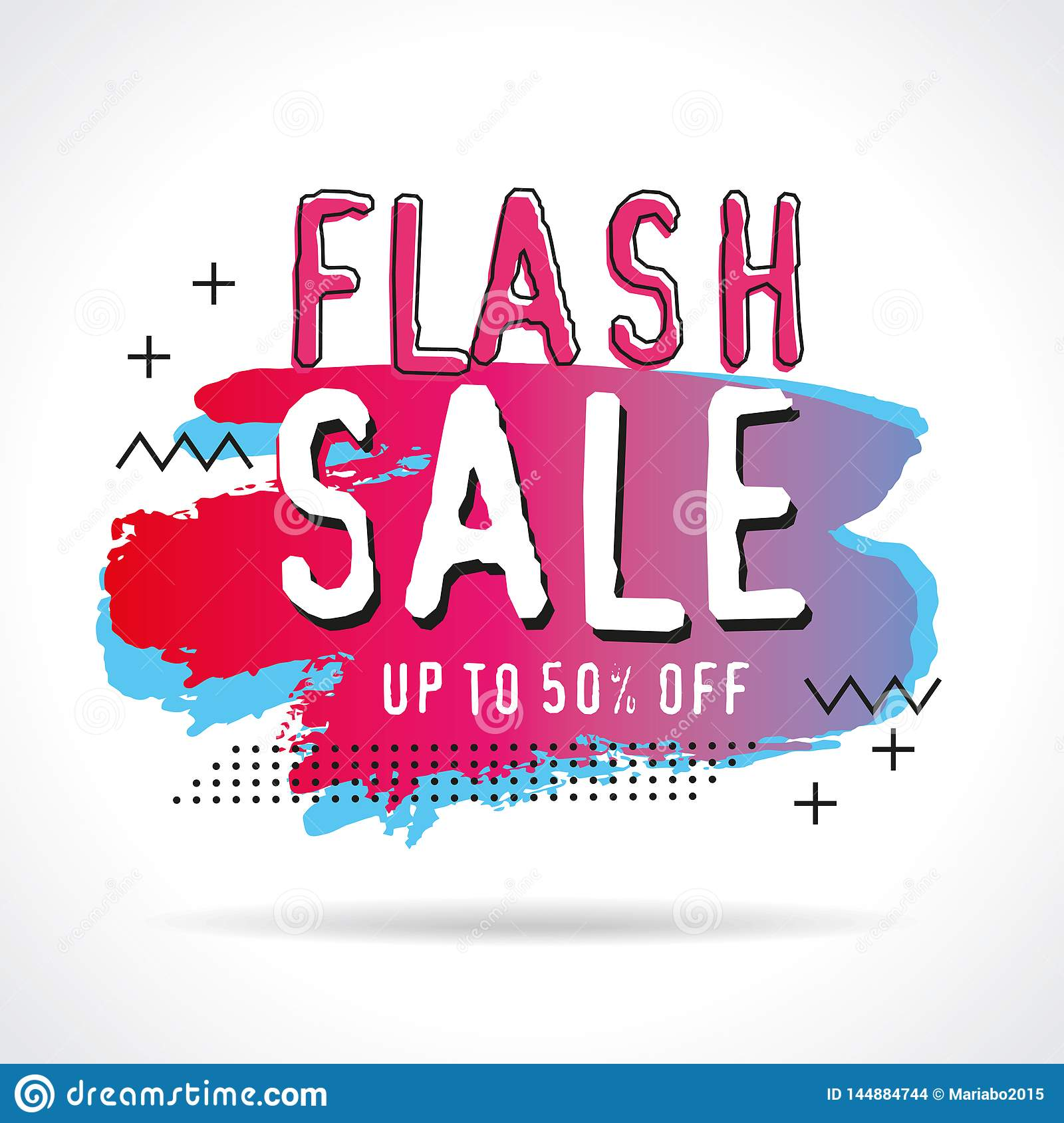Discount sale banners template