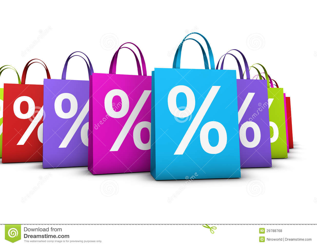 Shopping Bags Discount Concept Royalty Free Stock Photos - Image ...