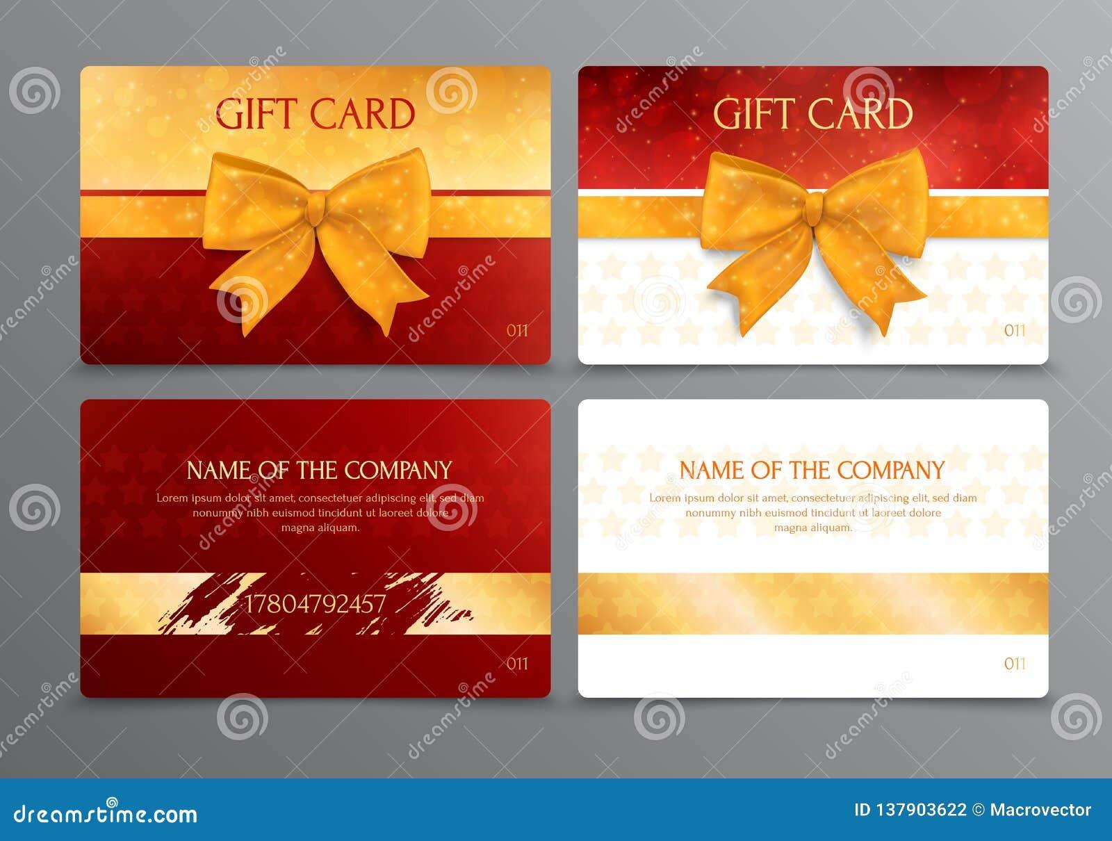 discount scratch gift card design stock vector