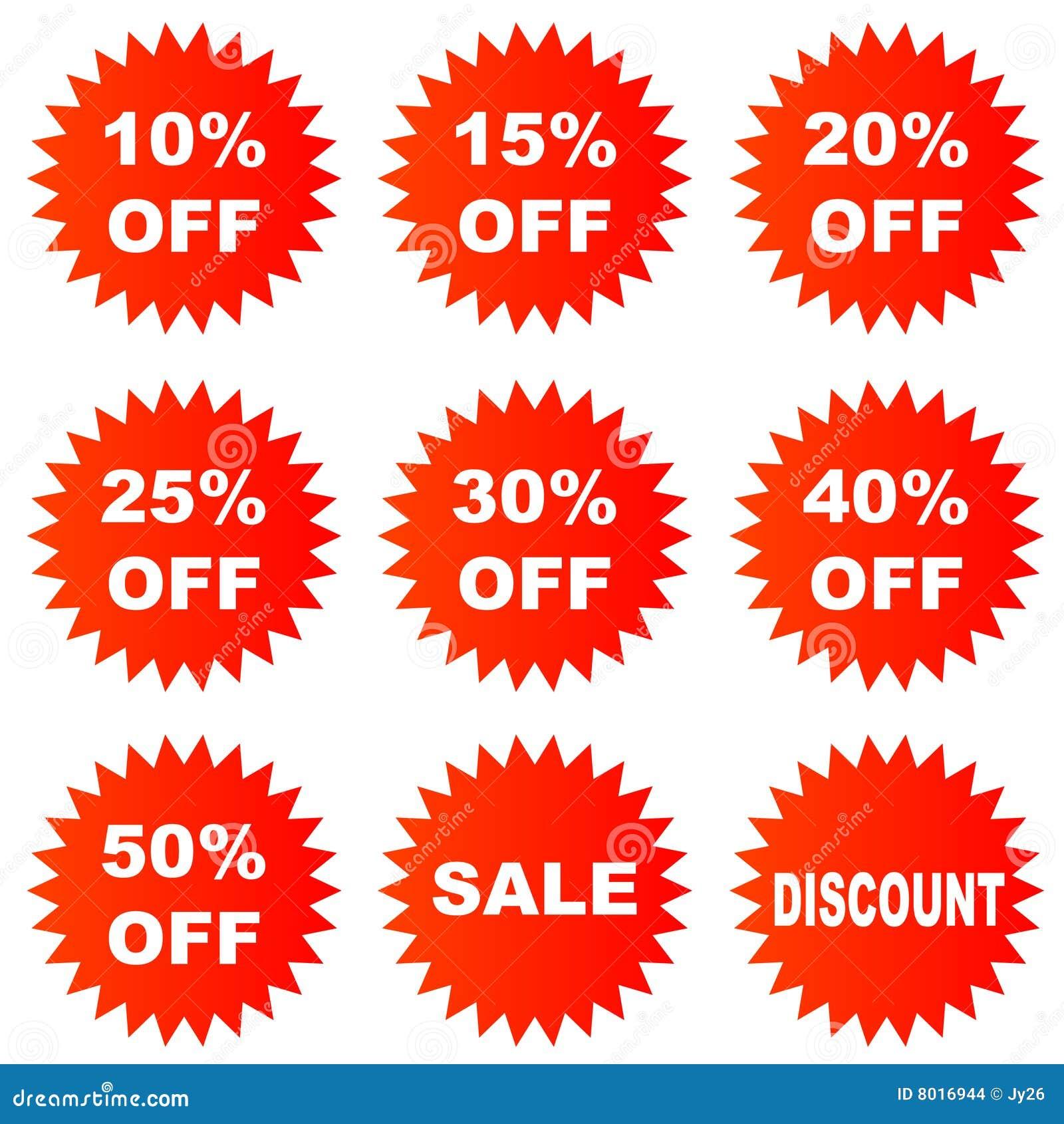 Discount Sticker Stock Vector Image Of Marketing