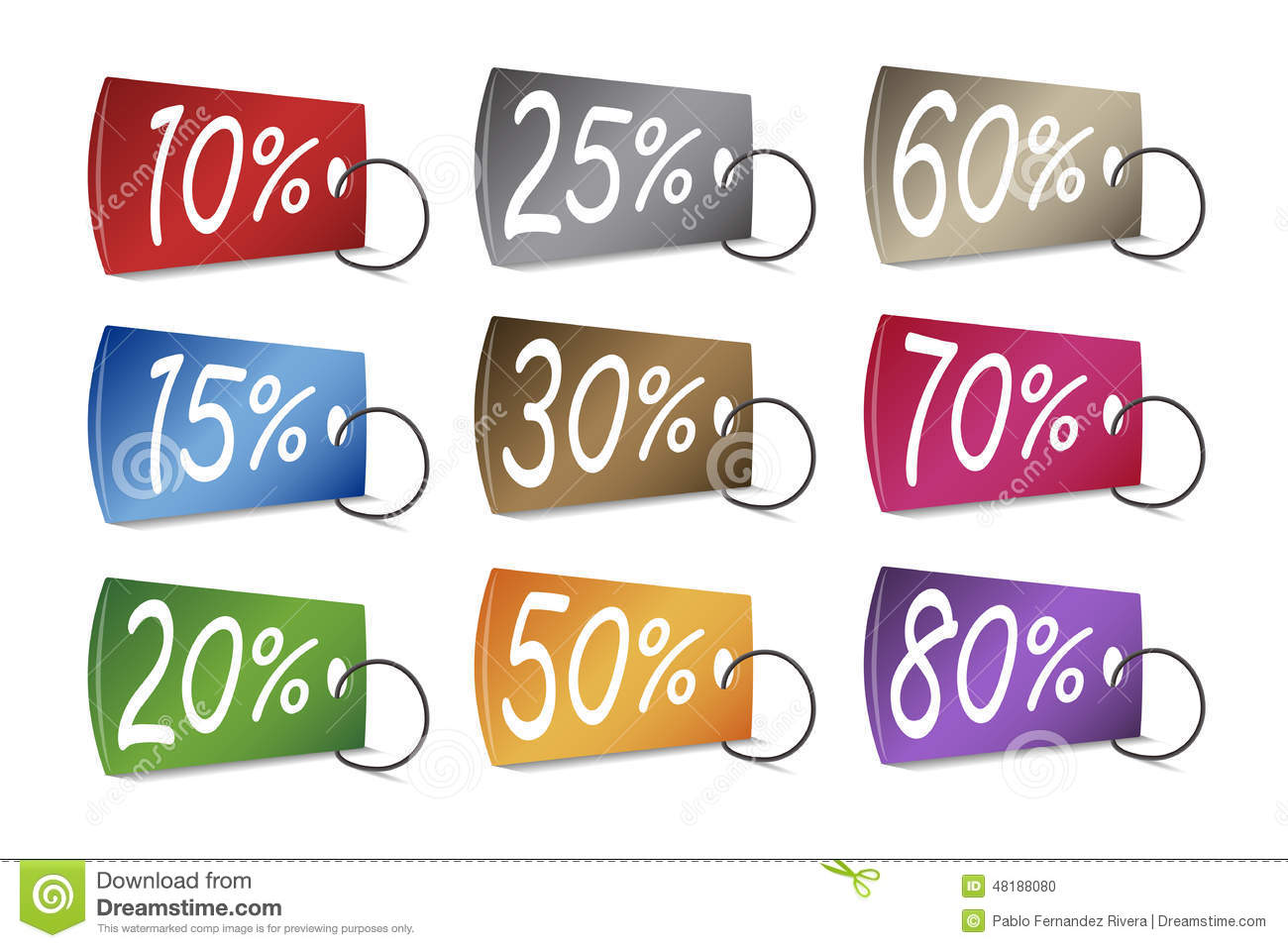 Https Www Dreamstime Com Stock Illustration Discounted Prices Tags Illustration Image48188080