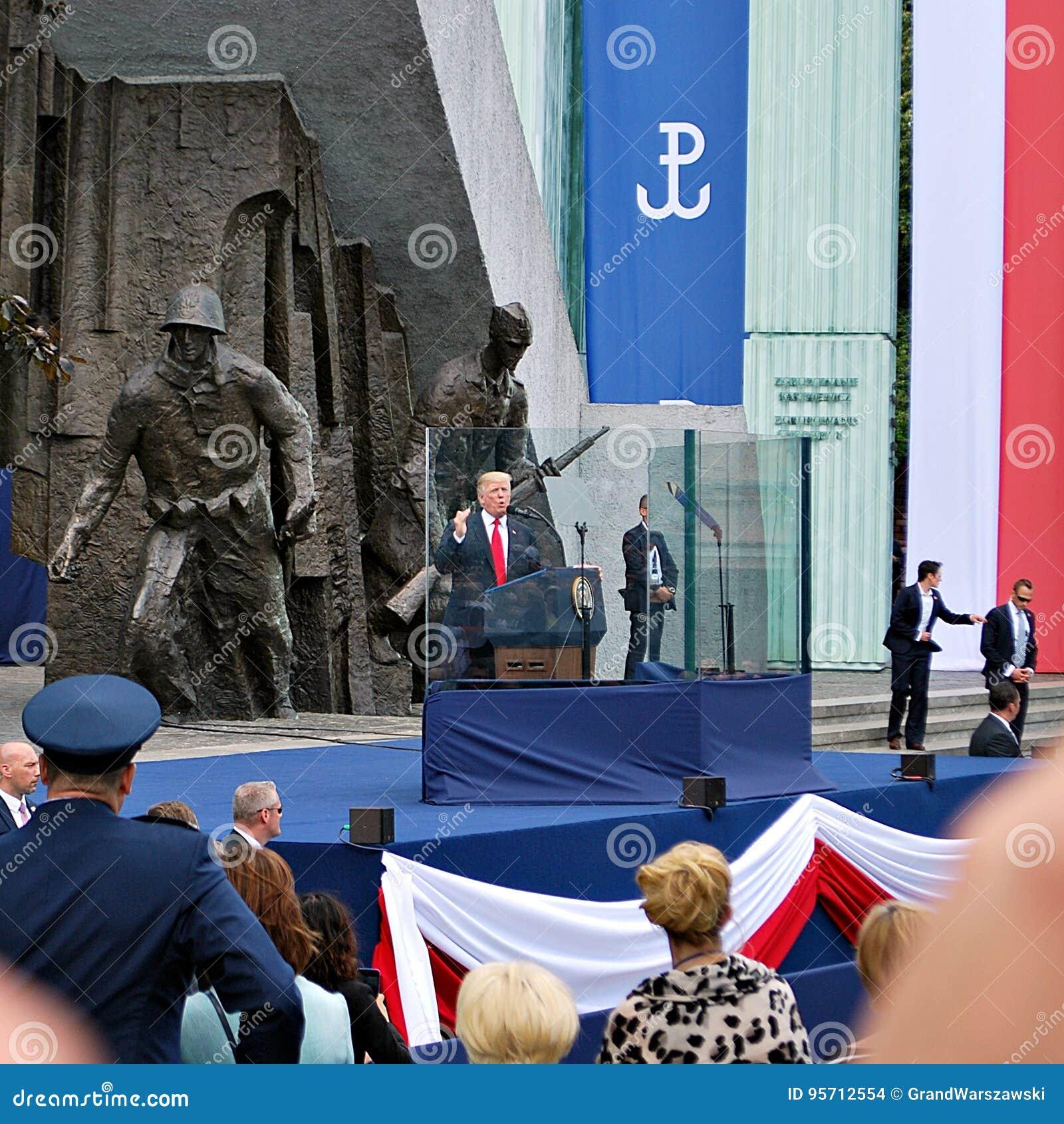 Discours du Président Donald Trump au peuple de la Pologne