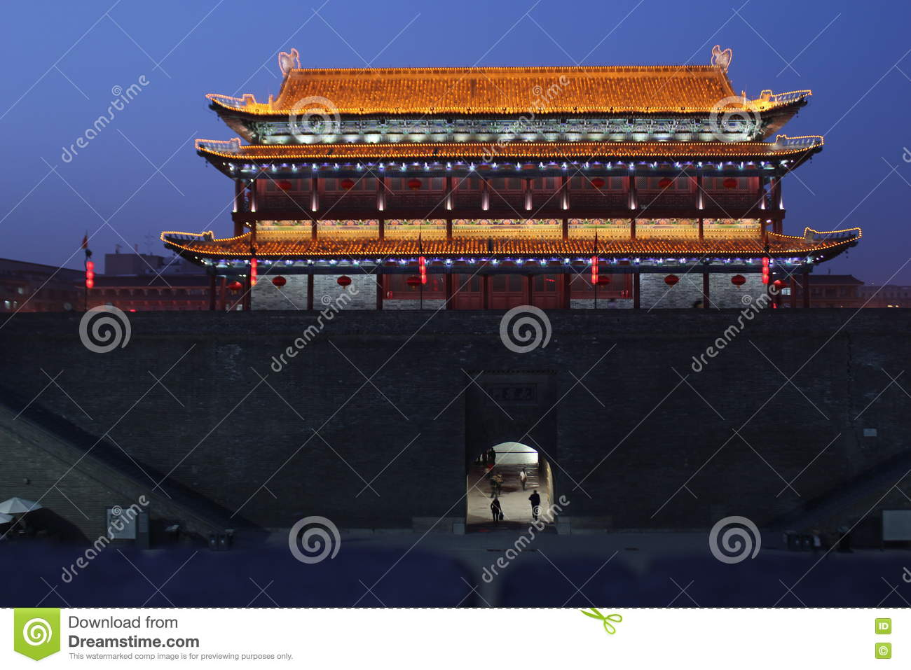 Discovering China: Xian city wall and South gate