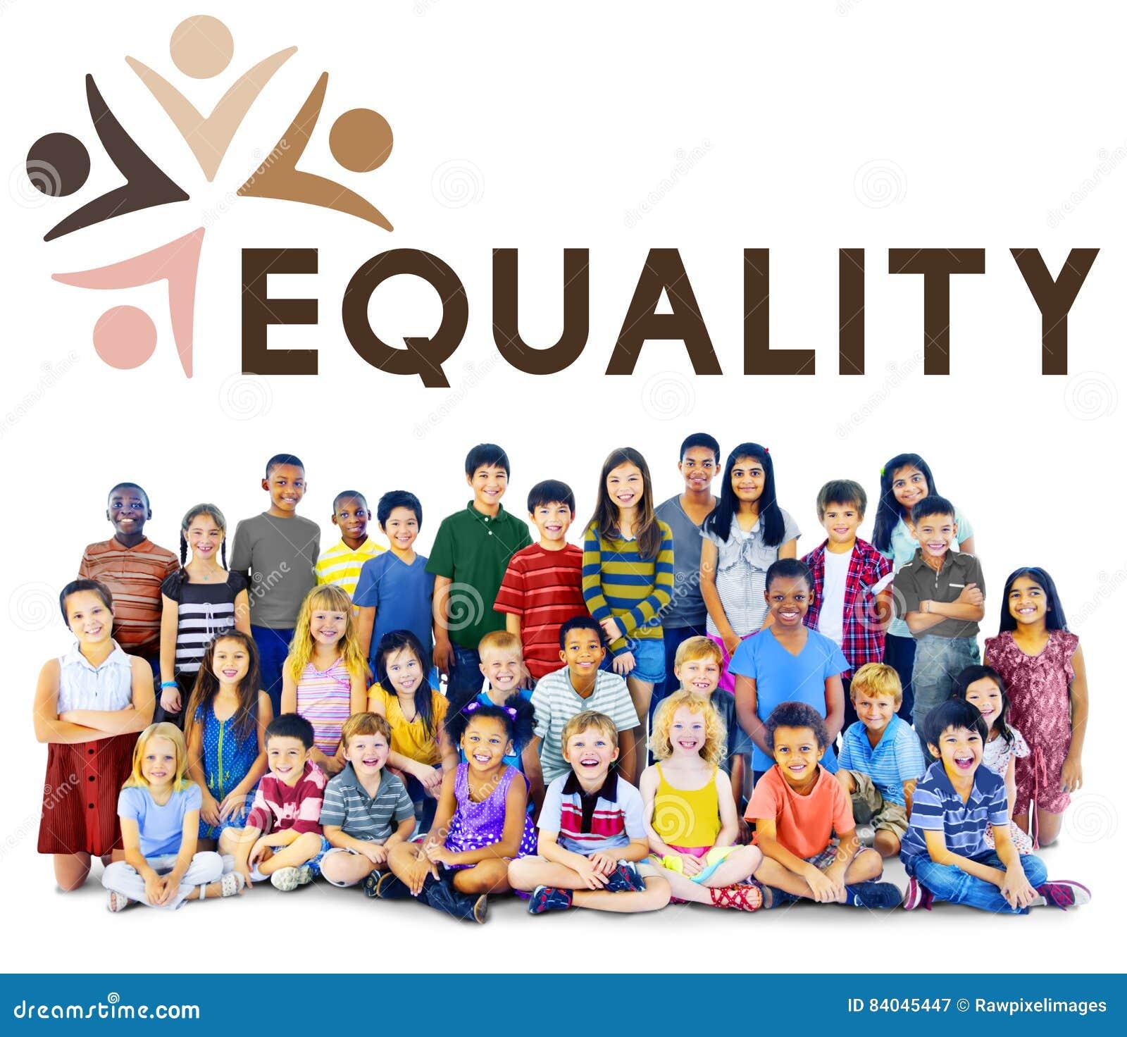 Discriminación racista Conce de los derechos fundamentales de la imparcialidad de la igualdad