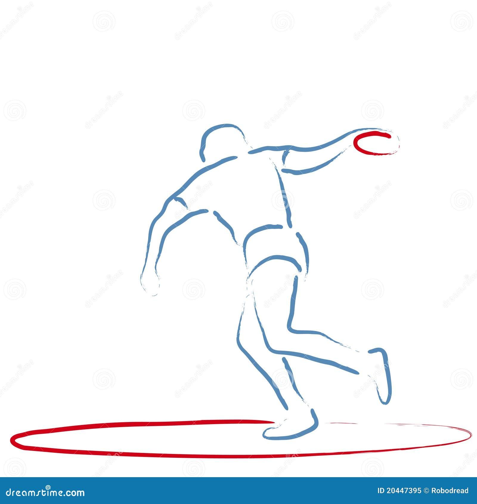 Discus Throw Clip Art ...