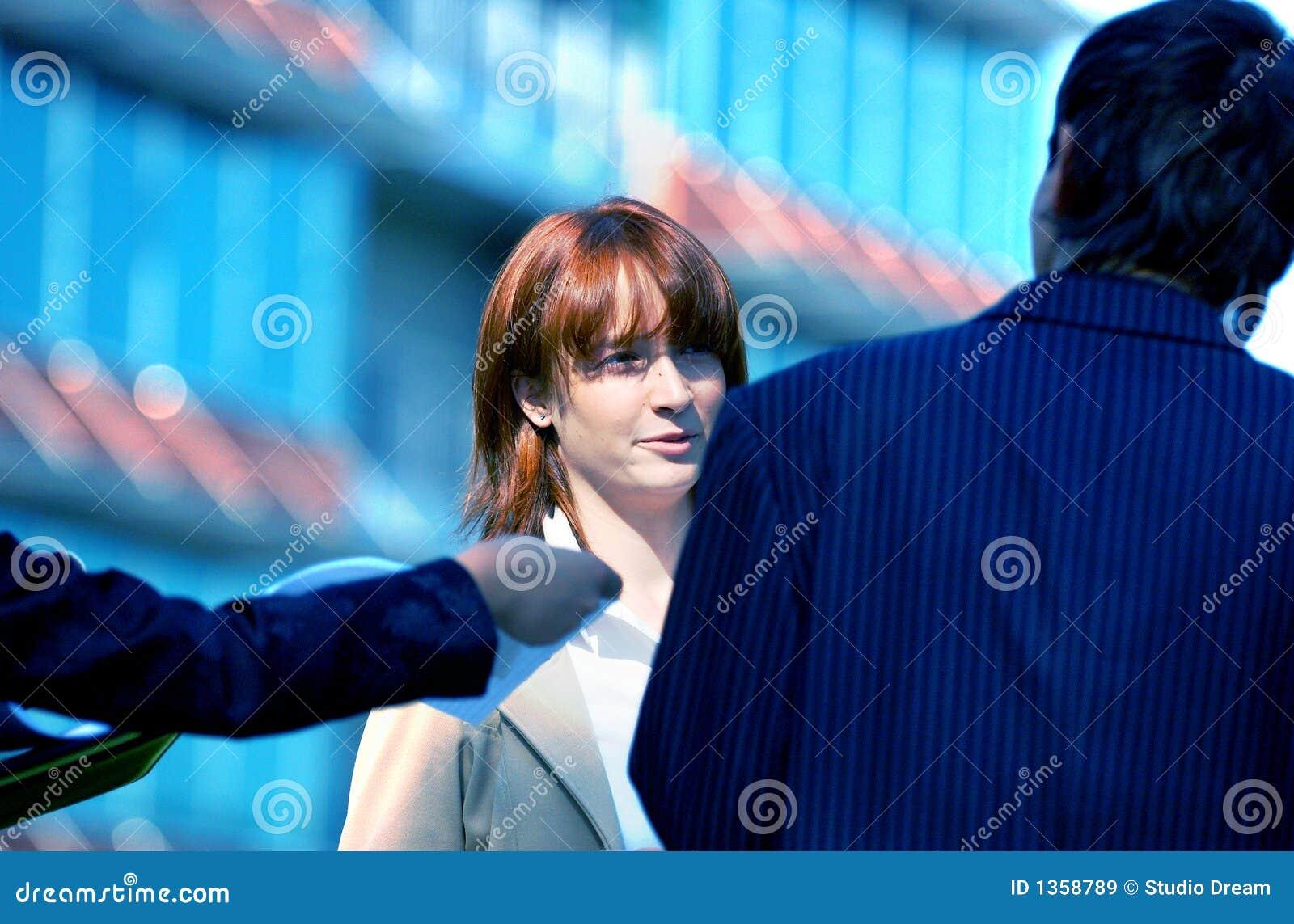 Discussion d affaires