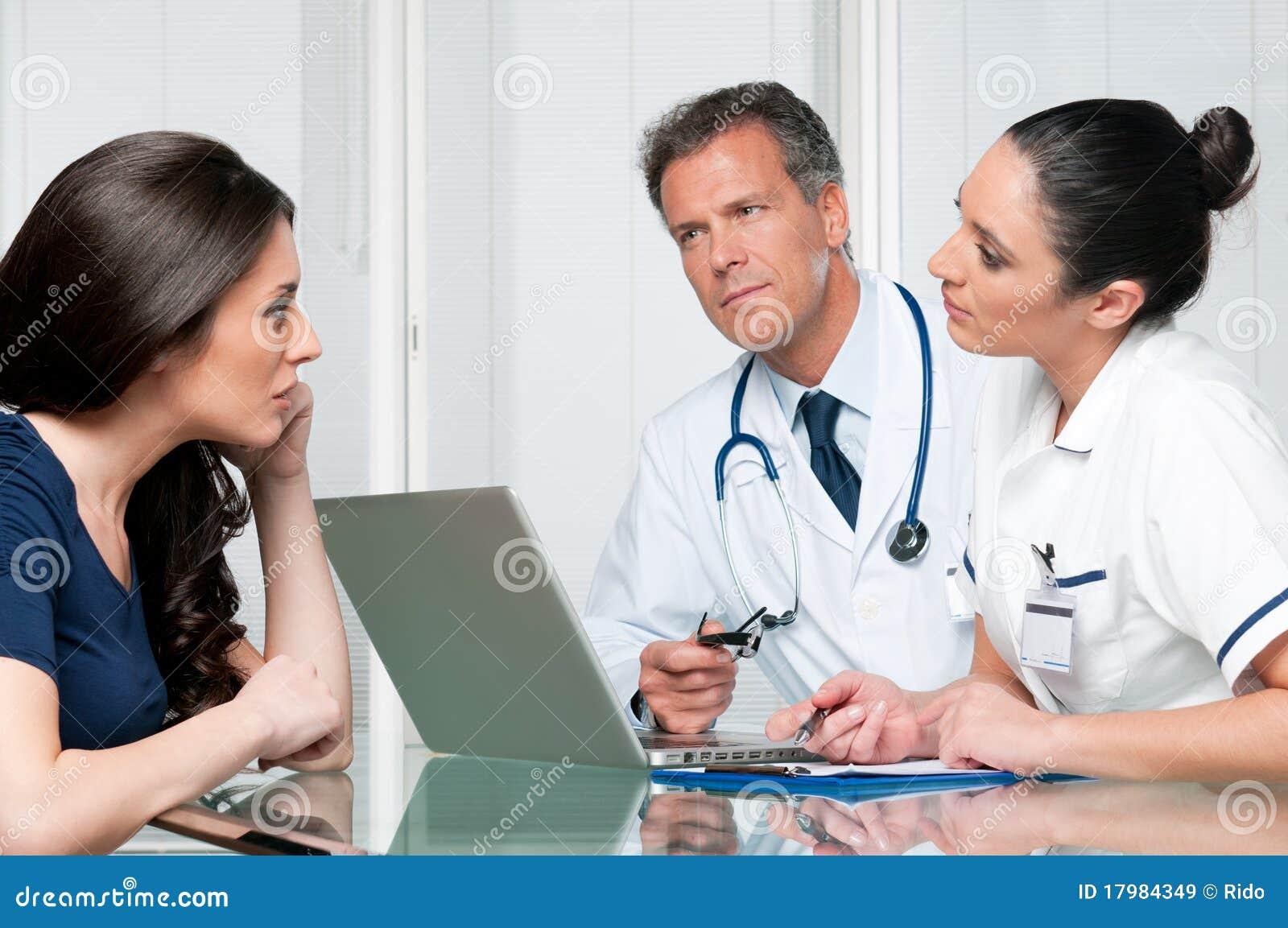 Discussion d examen médical