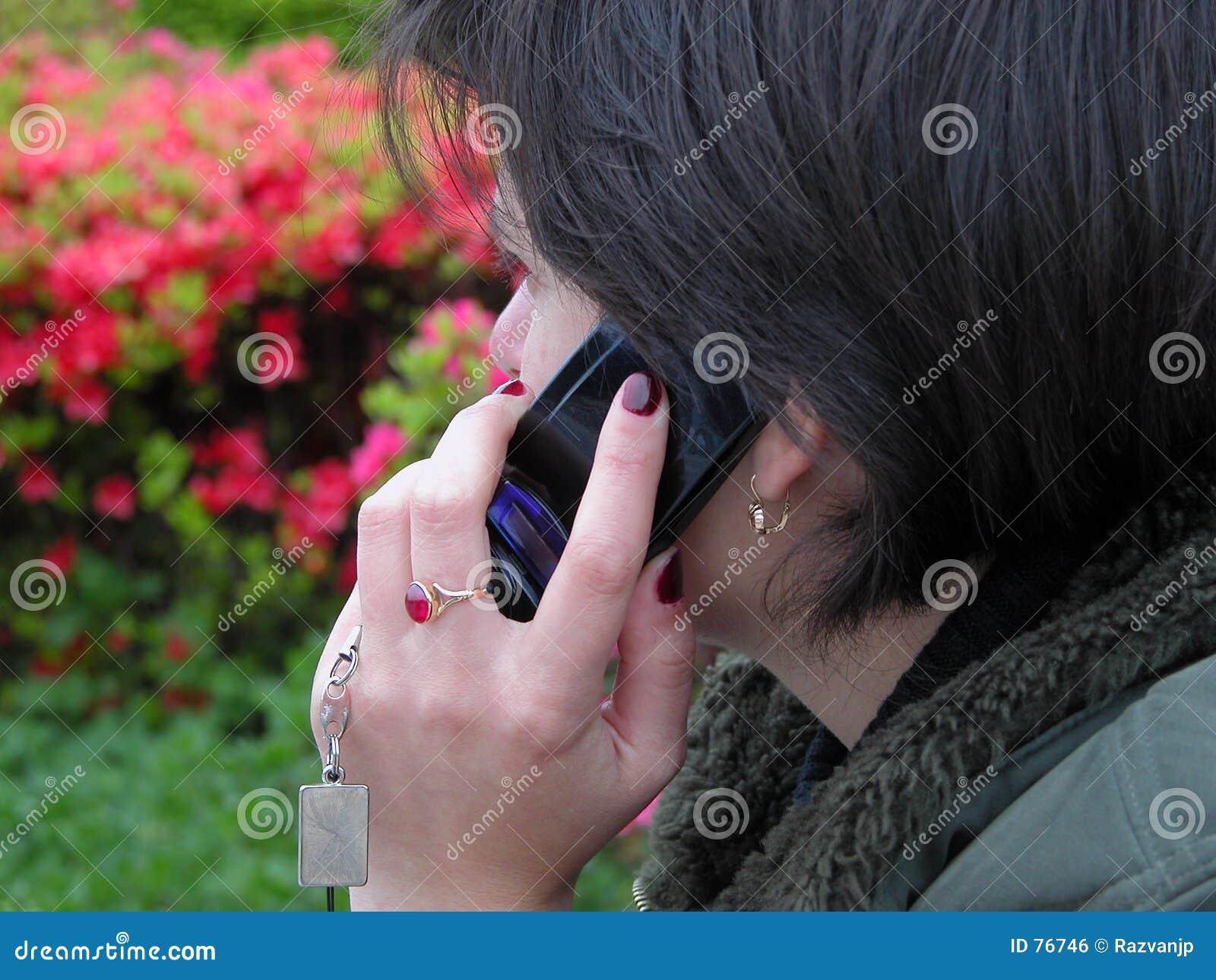 Discussion de téléphone