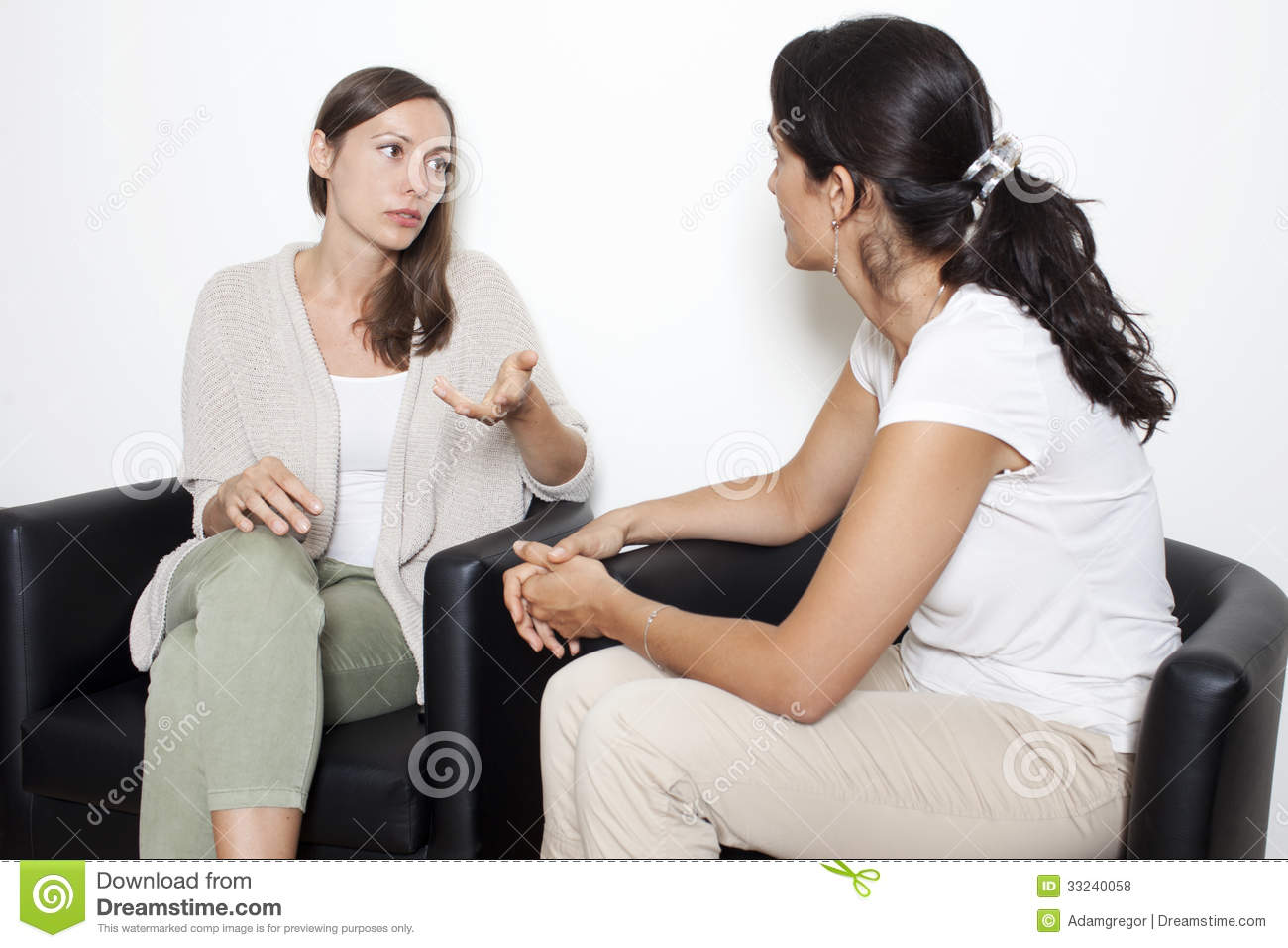 Discussion Among Friends Royalty Free Stock Photos - Image ...