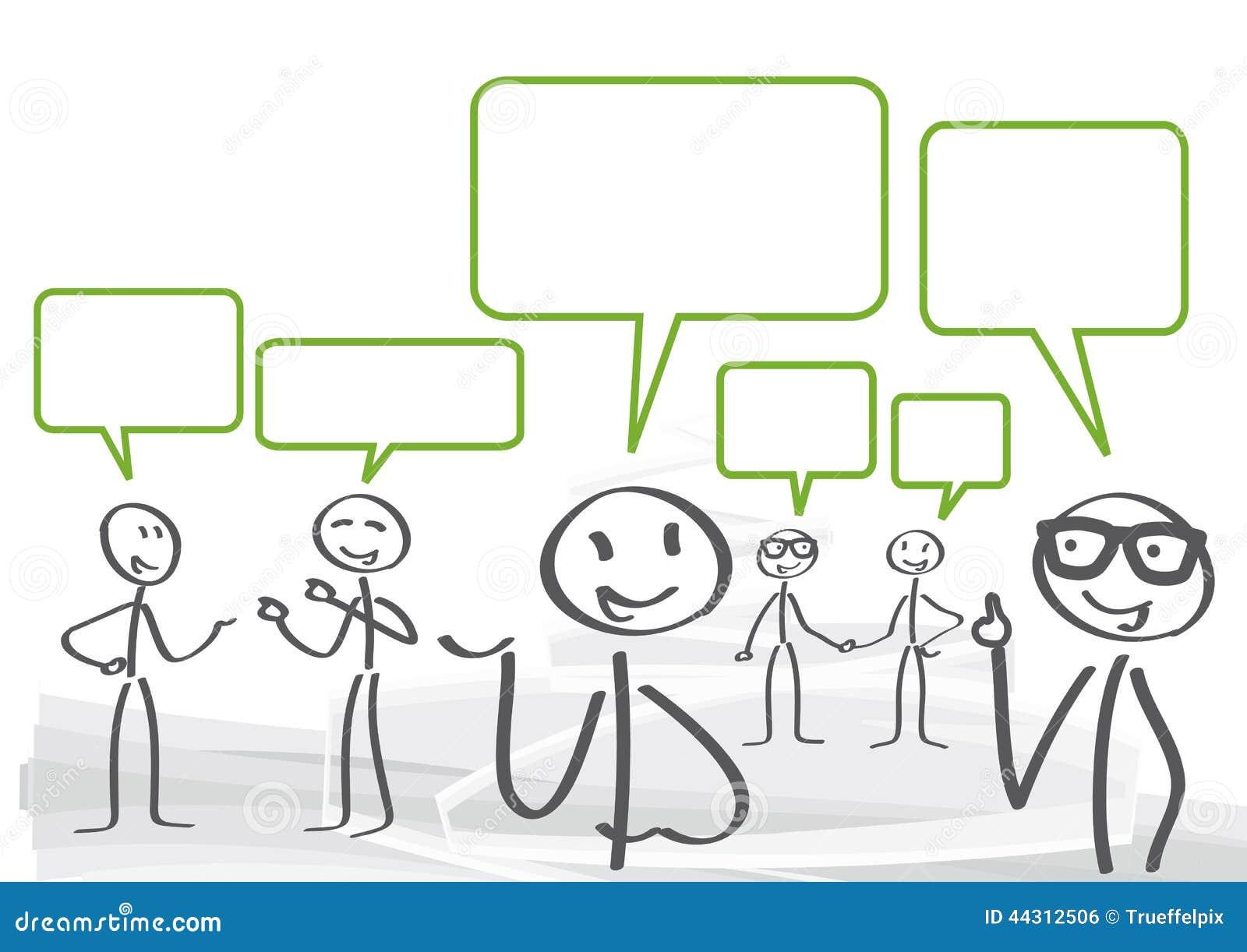 Discussion Stock Illustration - Image: 44312506