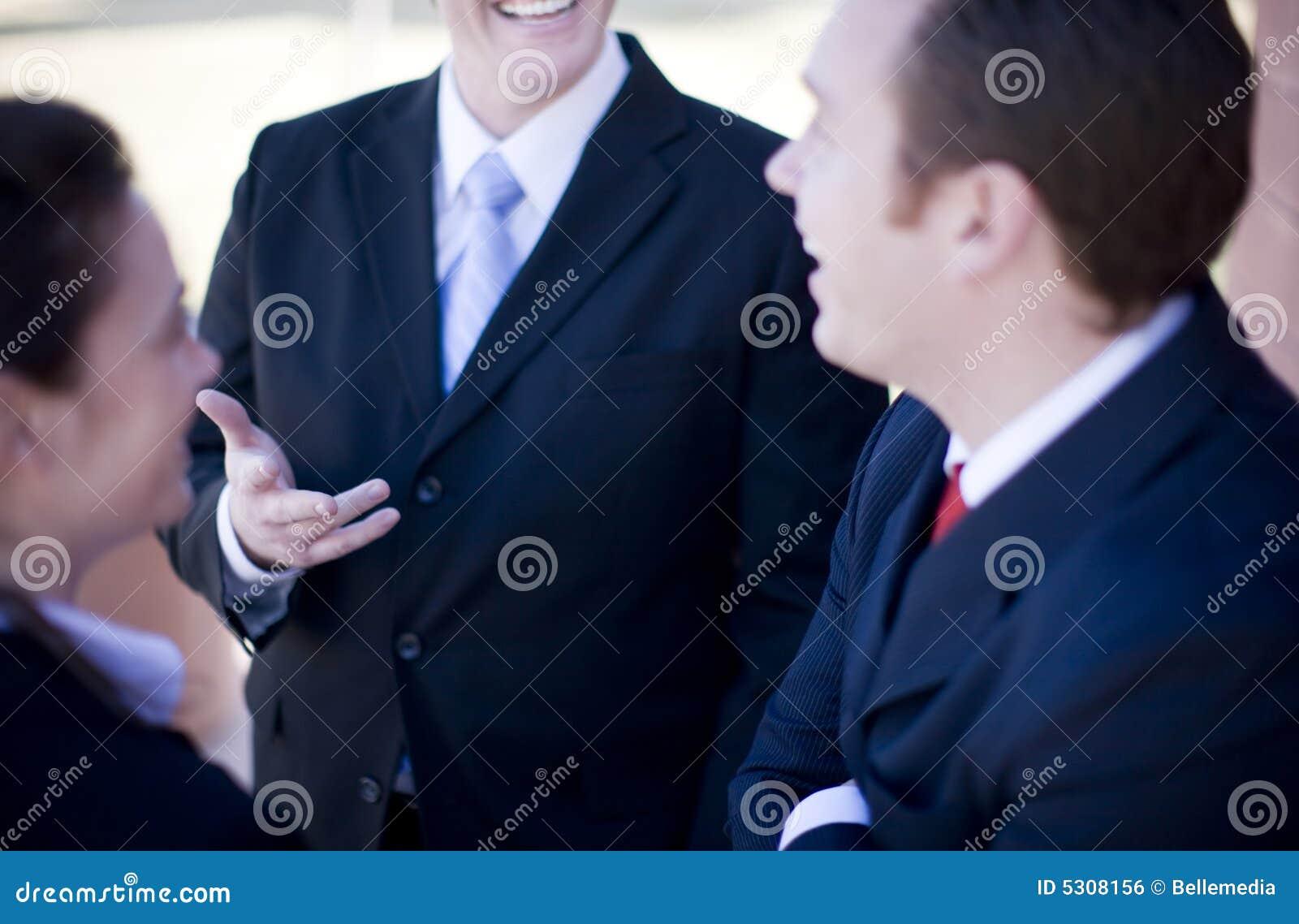 Download Discussione Delle Persone Di Affari Fotografia Stock - Immagine di persona, commercio: 5308156