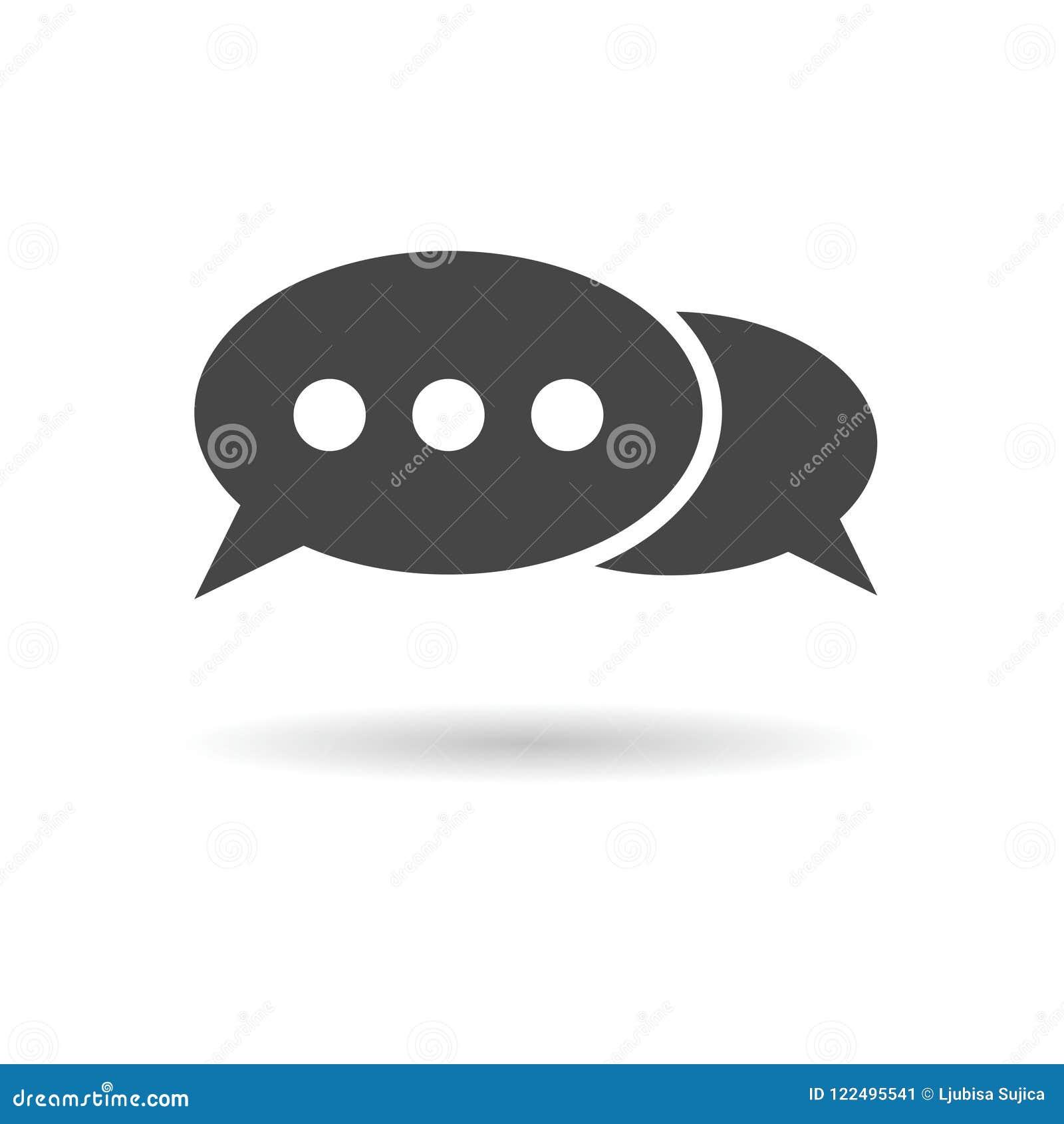 Discuta l icona di conversazione